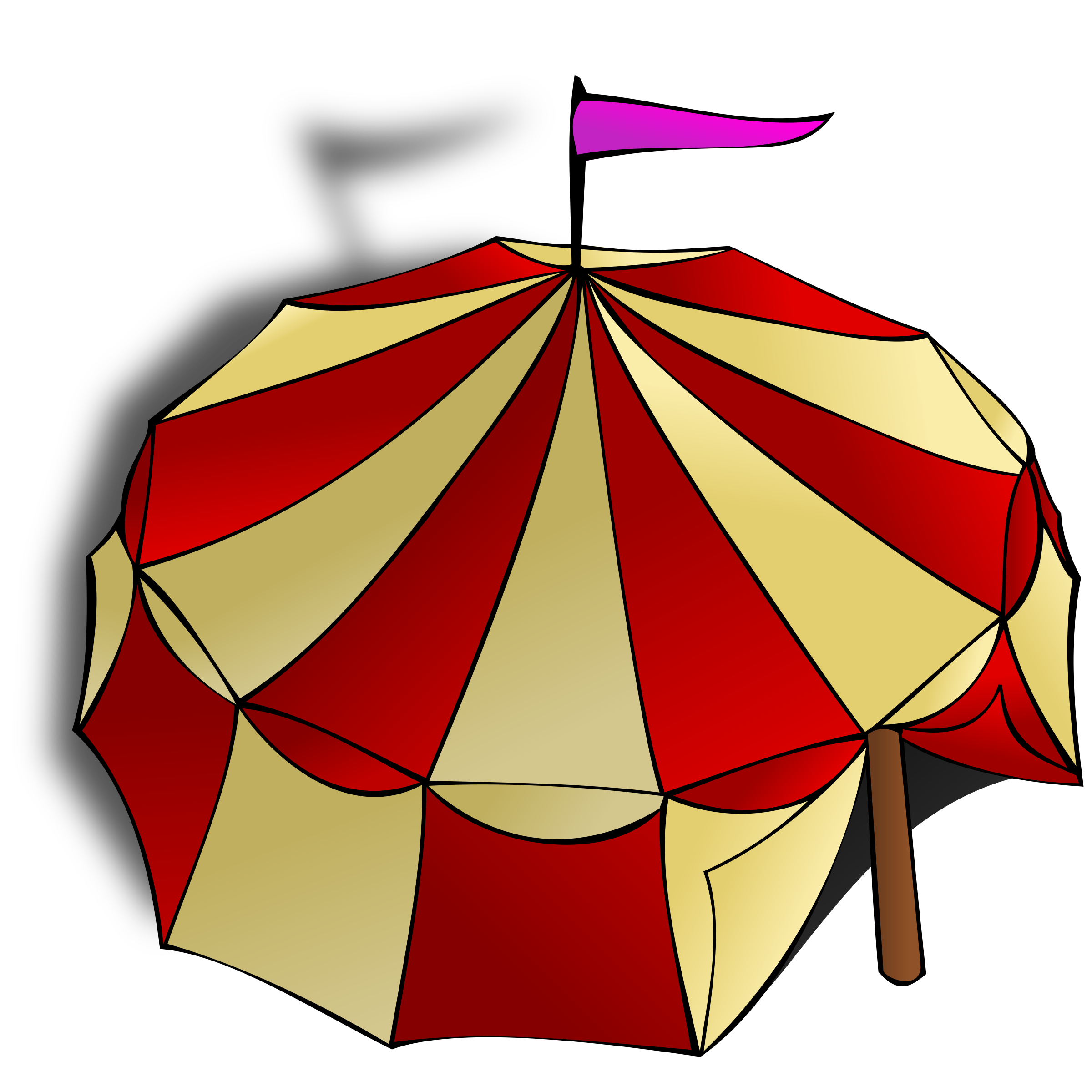 RPG map symbols: Circus Tent by nicubunu