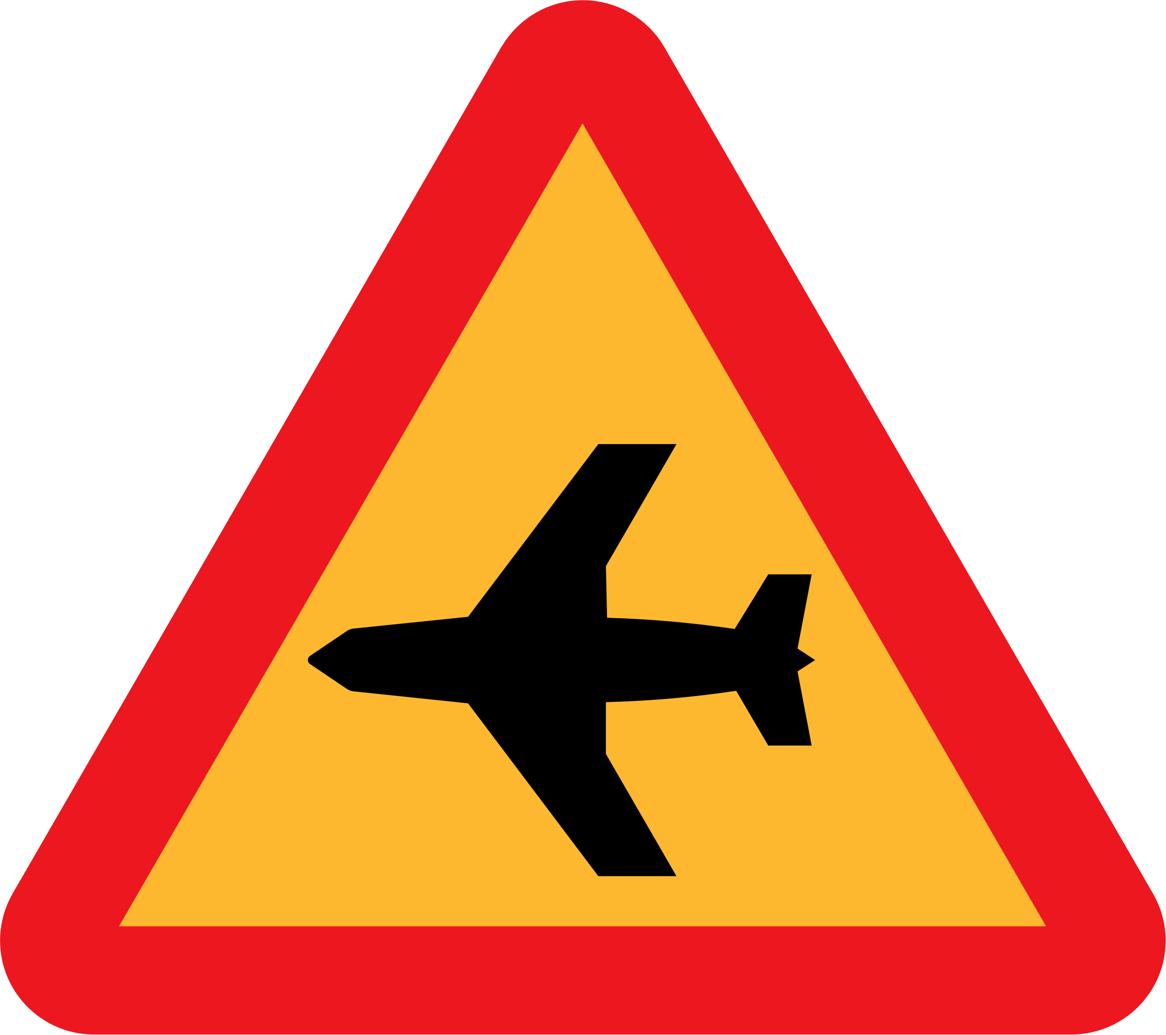 Airplane Roadsign by ryanlerch