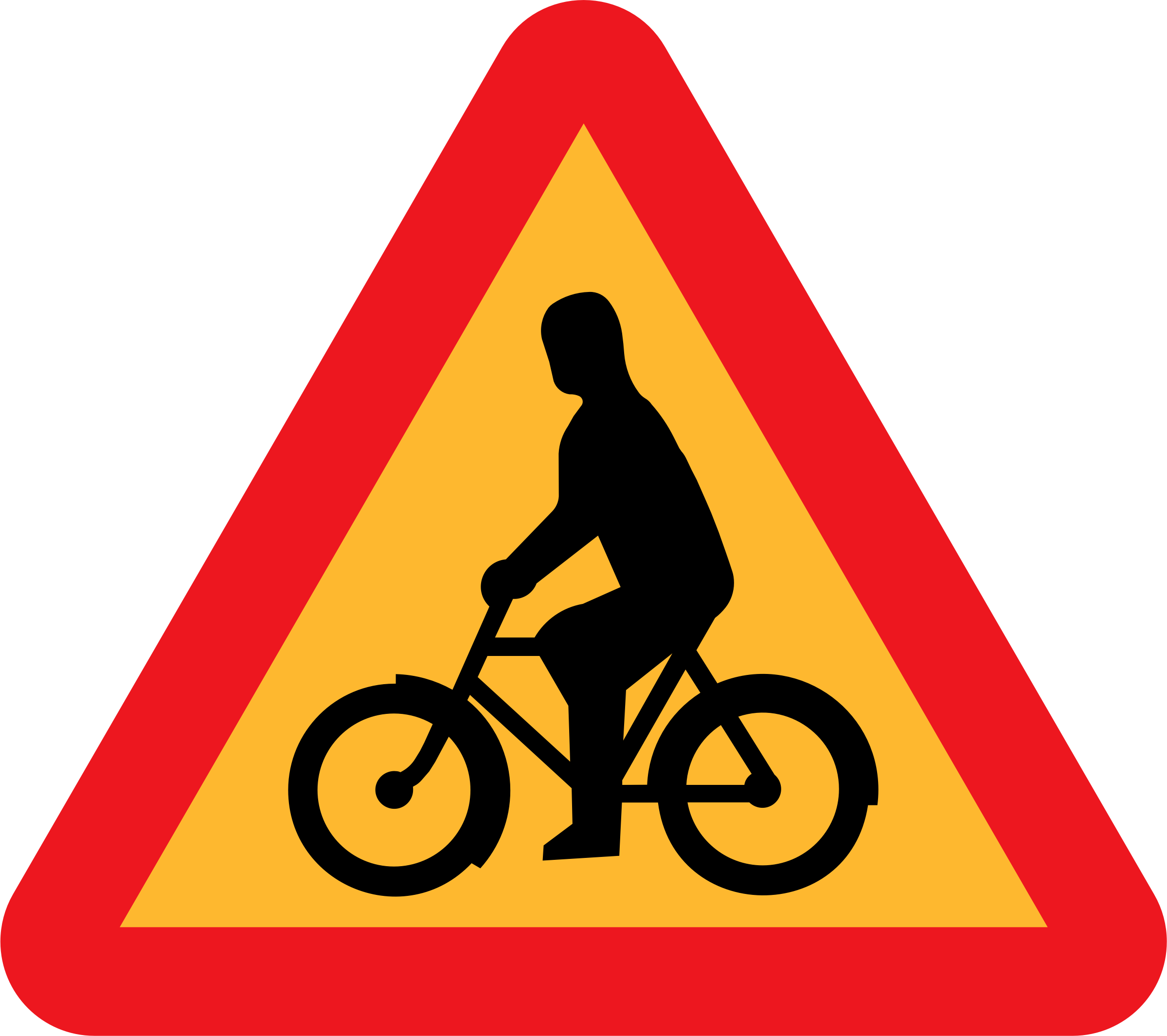 Bicycles Roadsign by ryanlerch