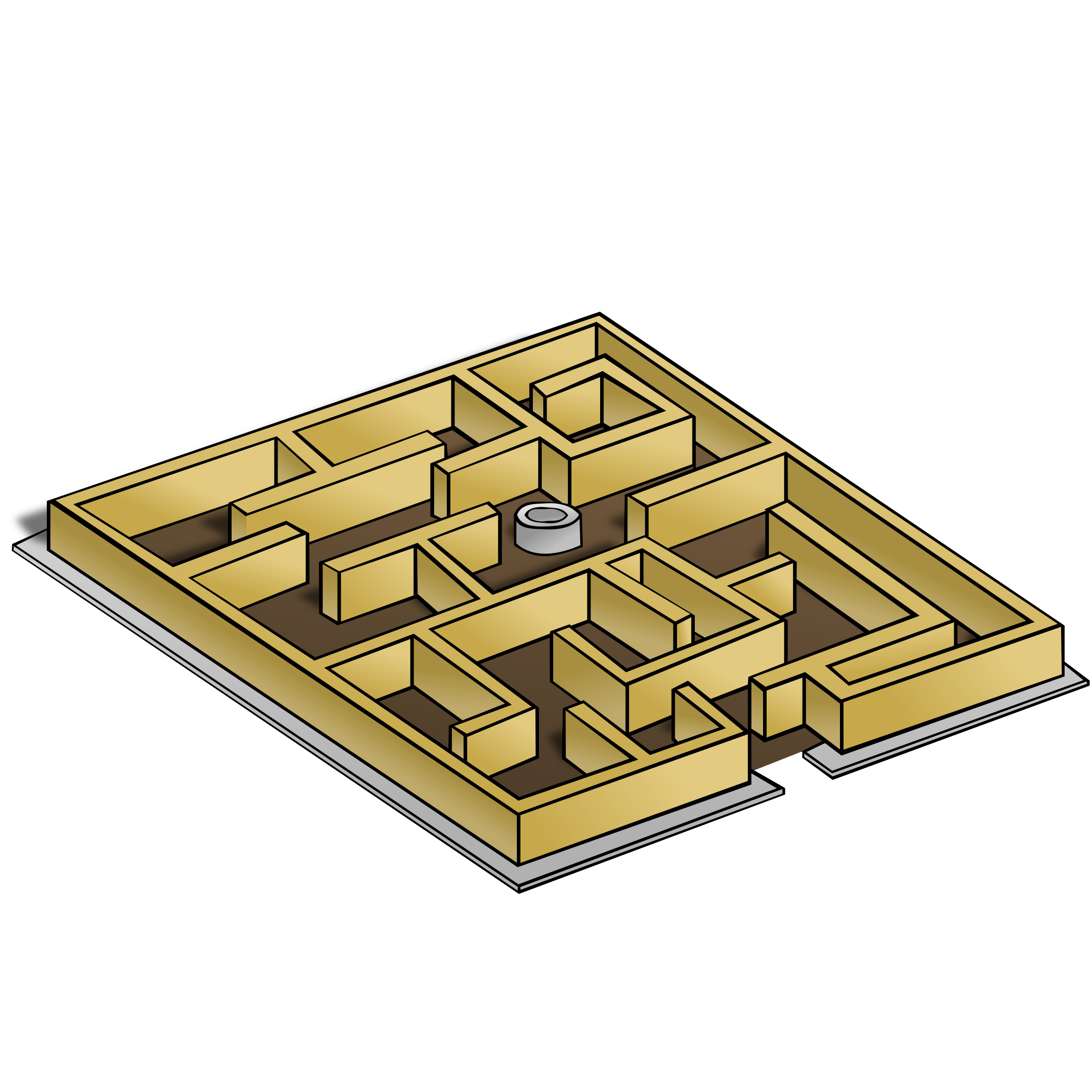 RPG map symbols: Maze by nicubunu