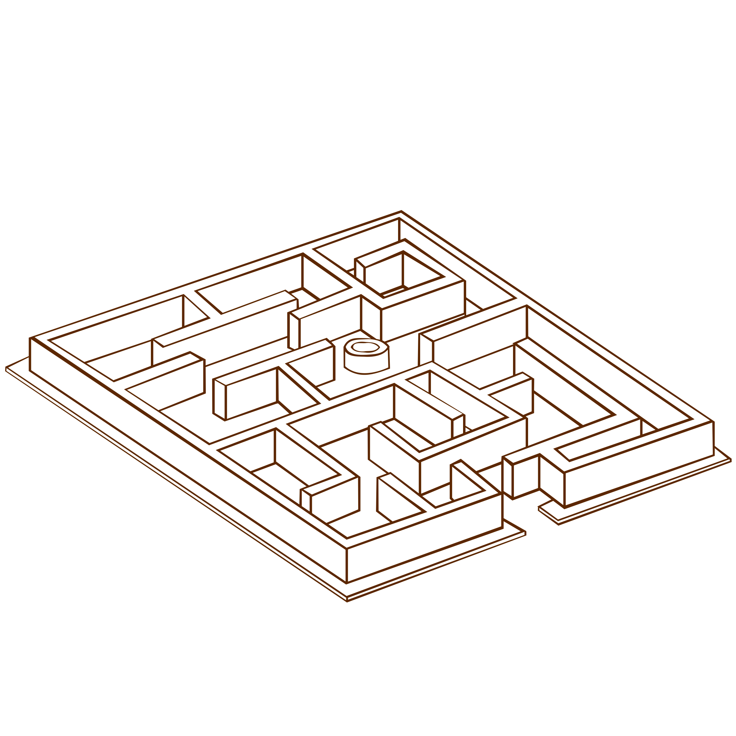 RPG map symbols Maze 2 by nicubunu