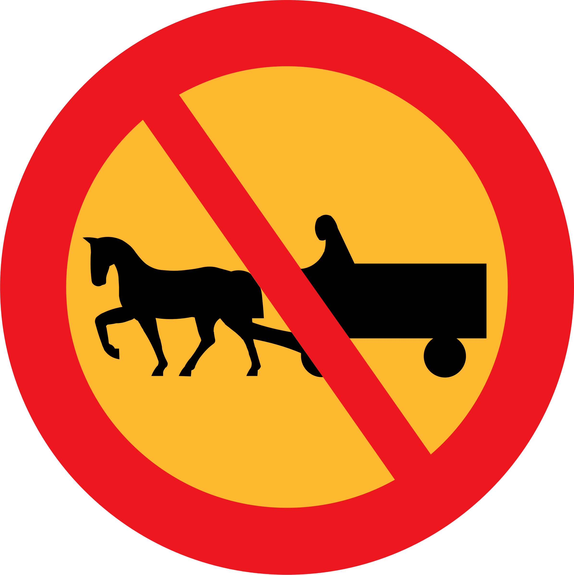 No horse and carts sign by ryanlerch