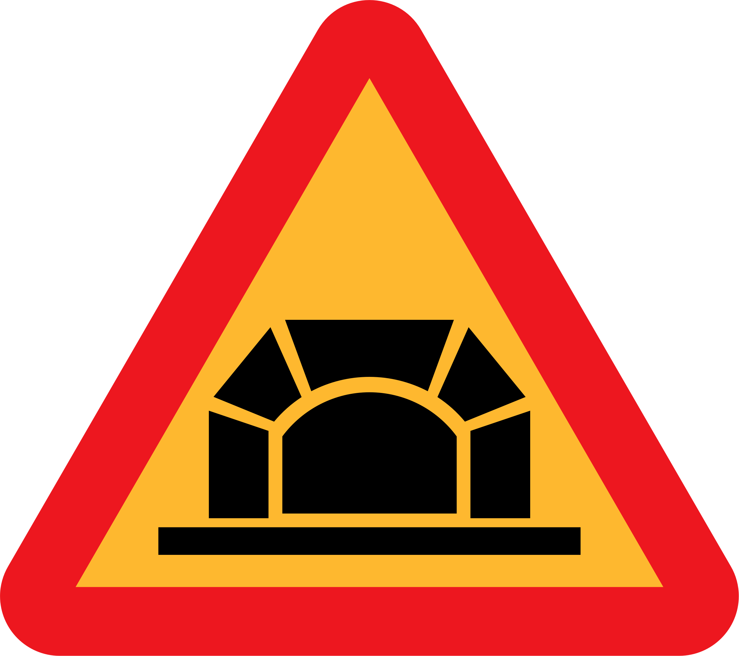 Tunnel Roadsign by ryanlerch