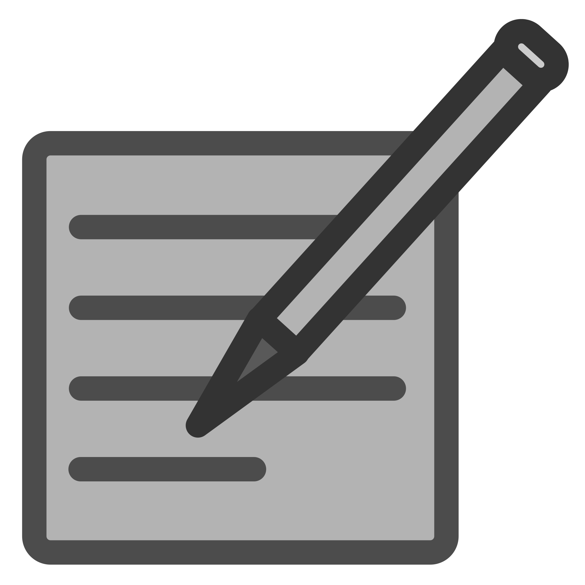 Write Document Icon by dannya