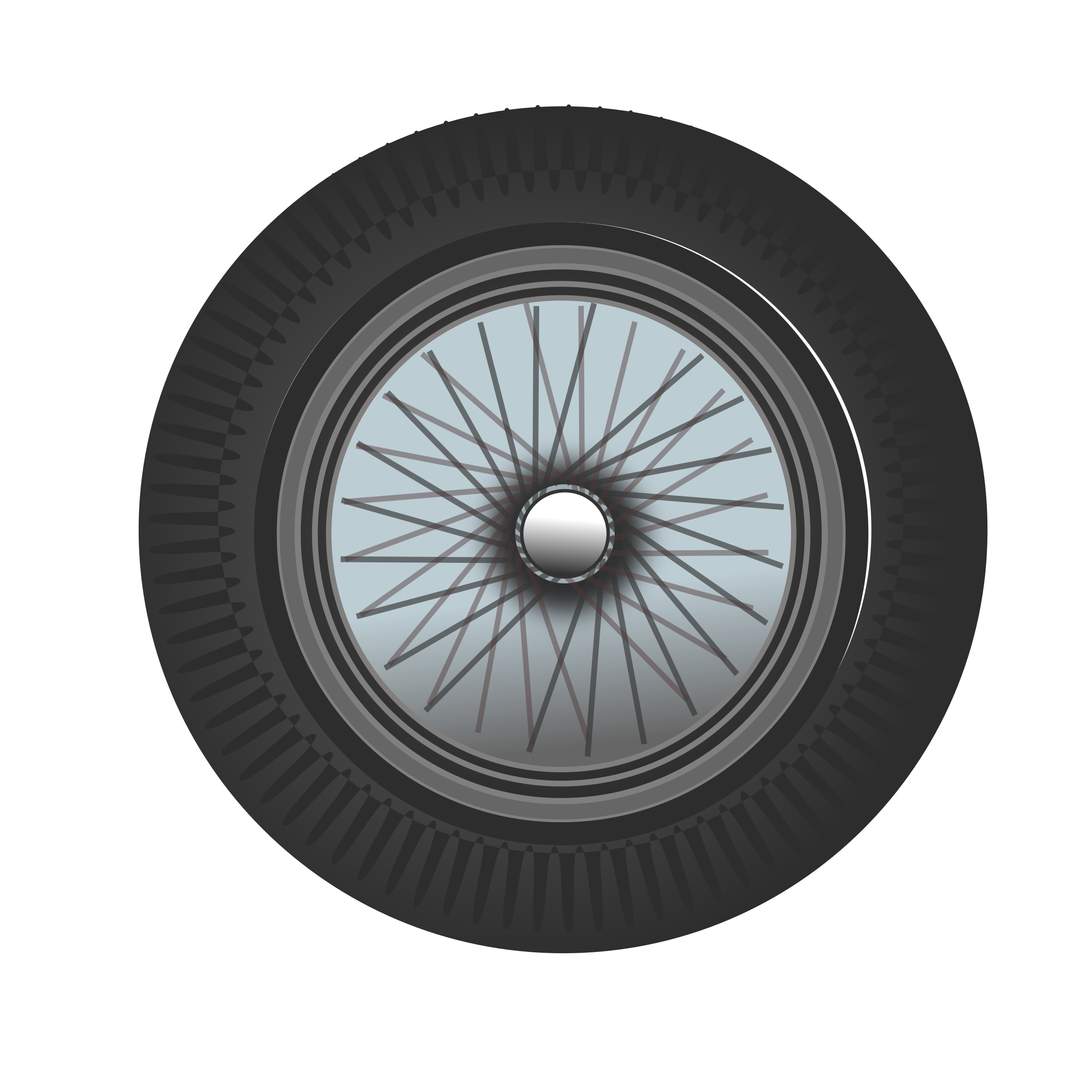 classic car wheel by netalloy