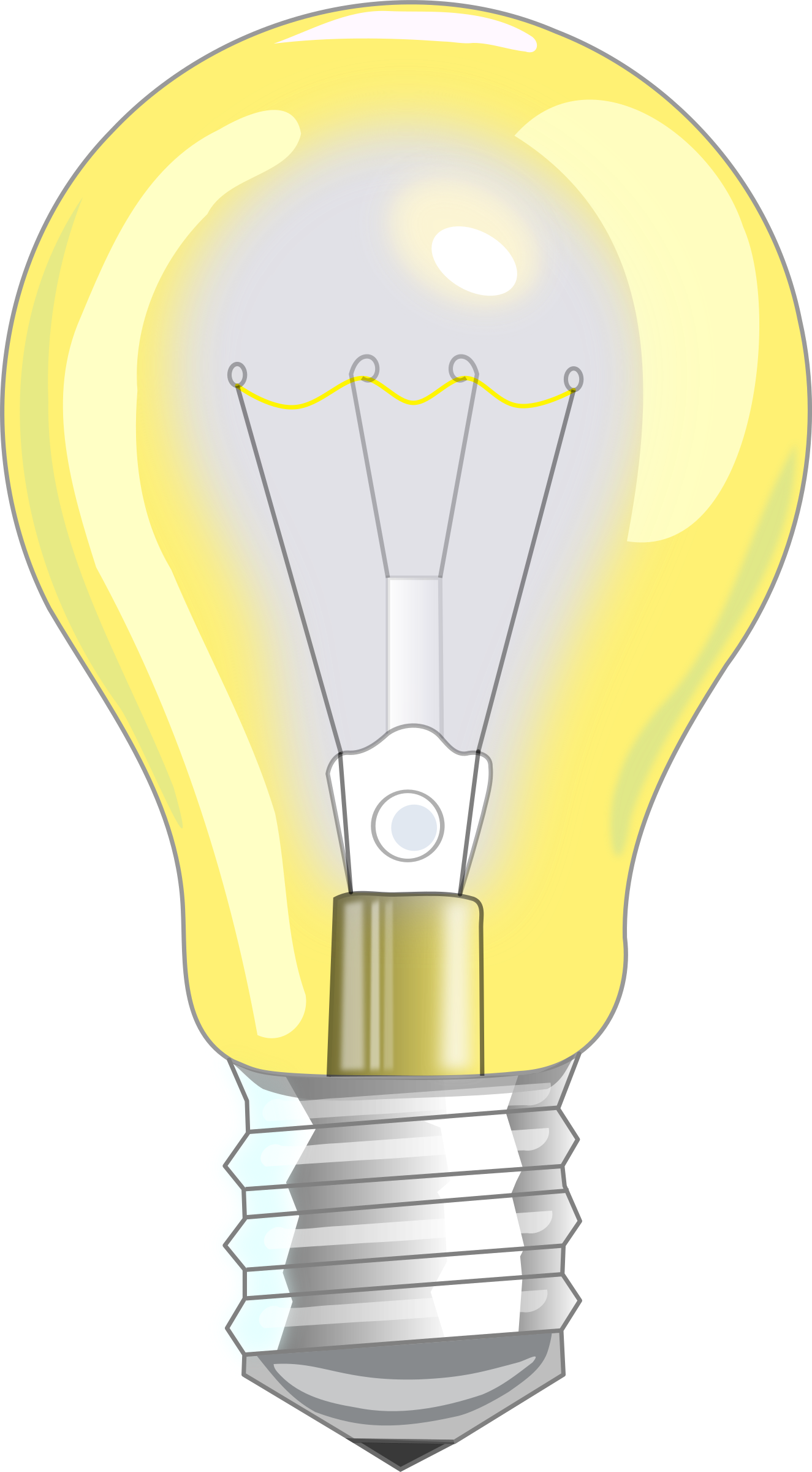 Clipart Light Bulb On