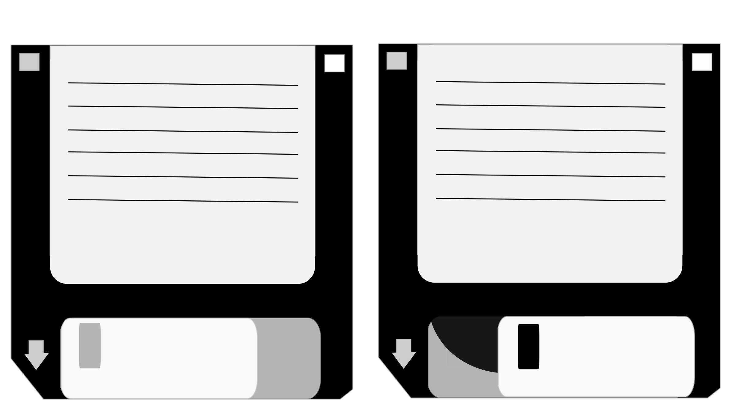 Floppy Disks by protop96