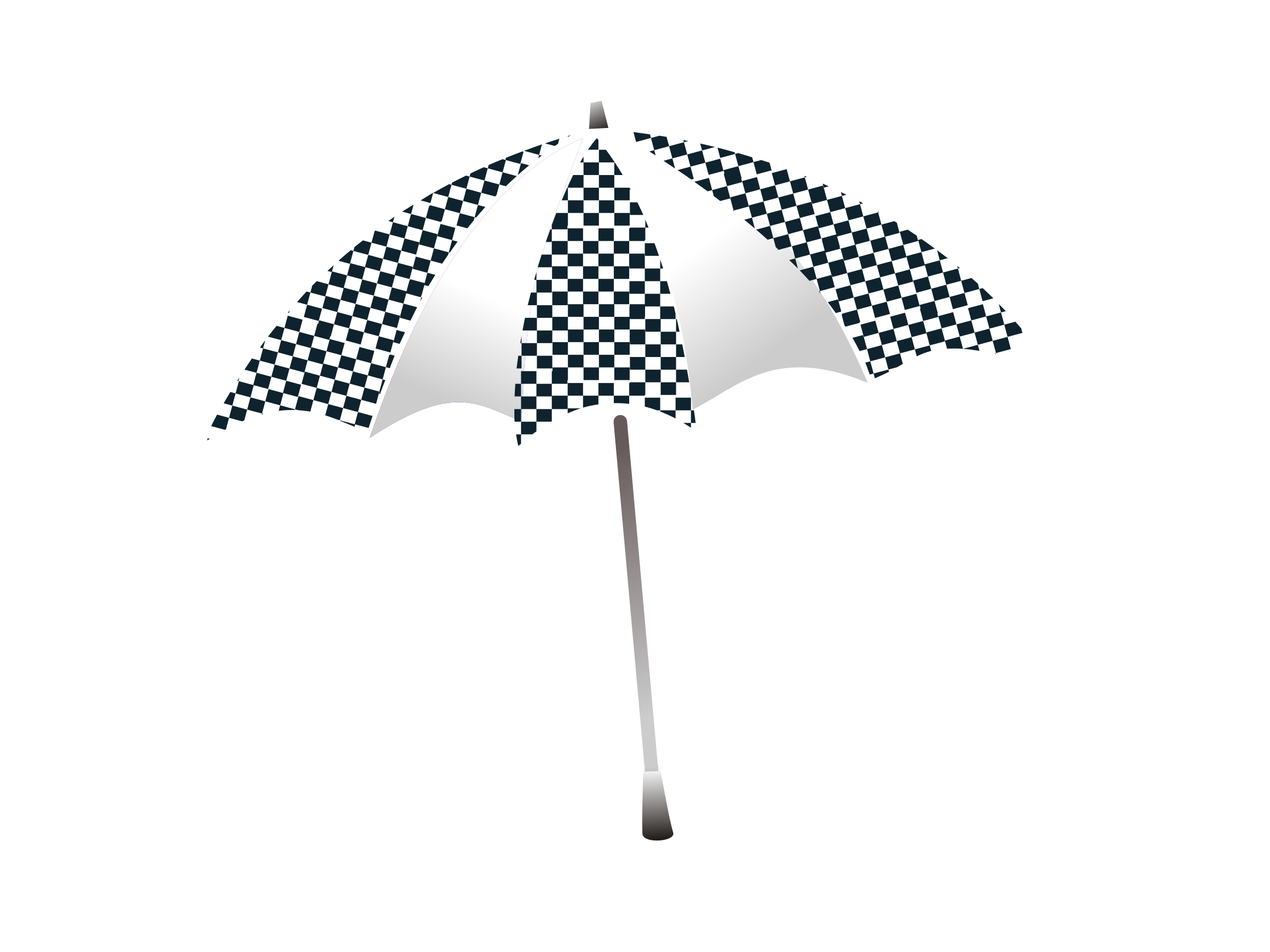 chequered umbrella by netalloy