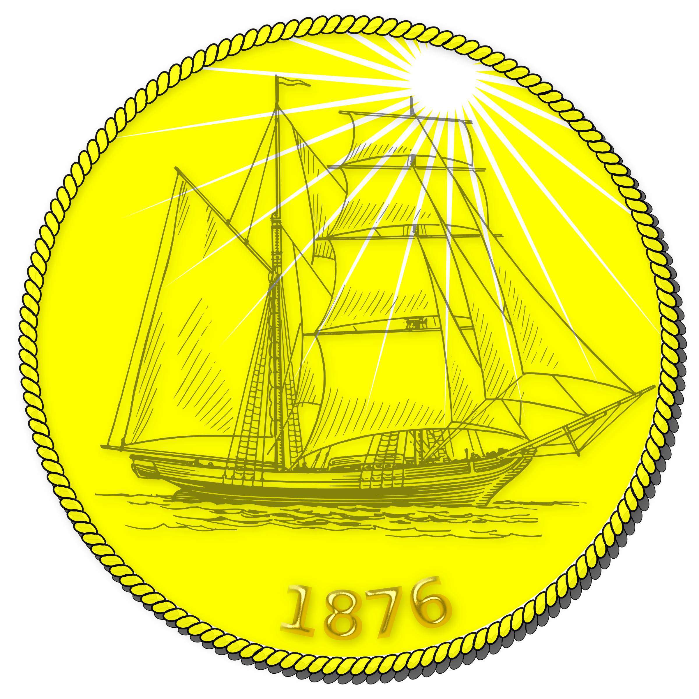 Golden Coin by Joe Linux