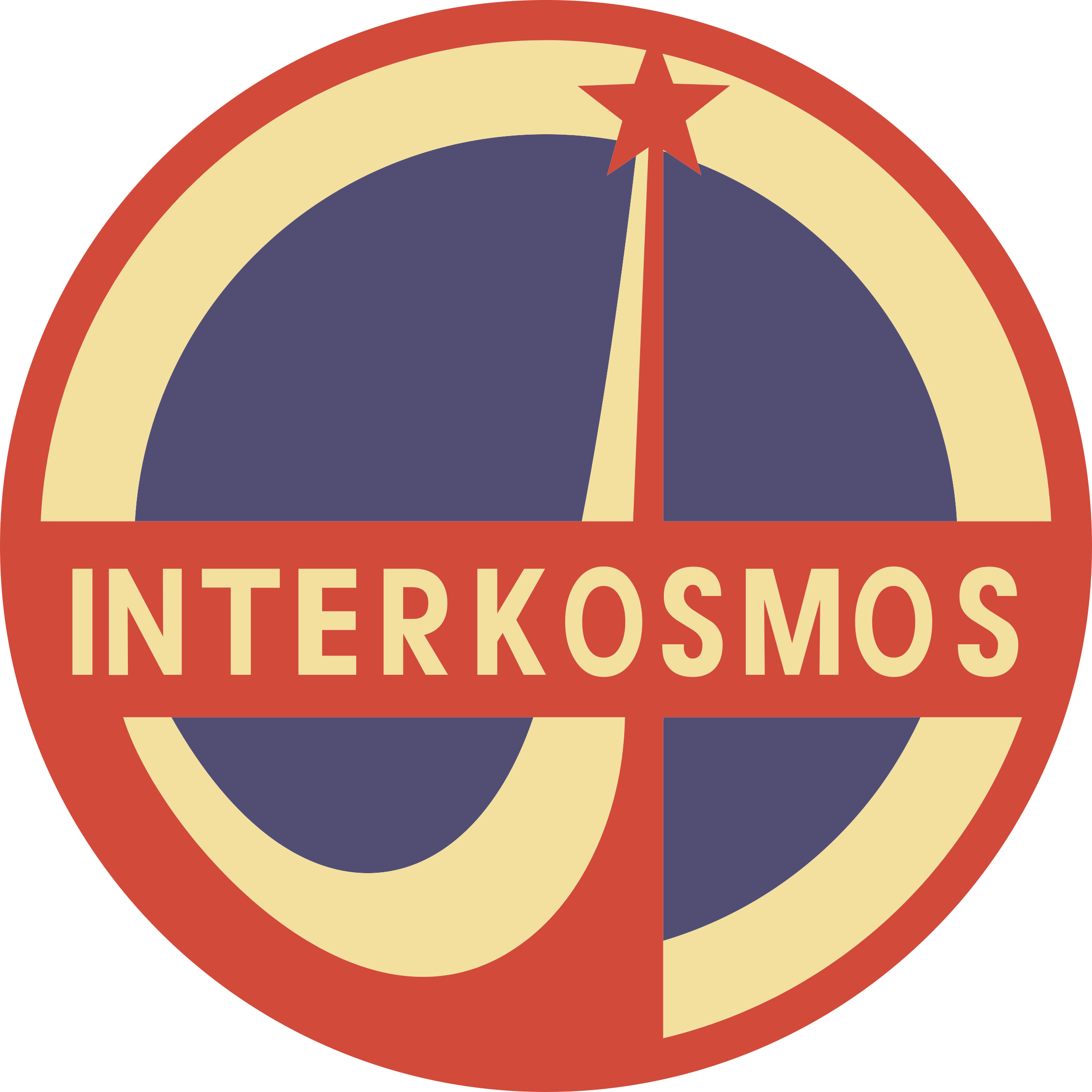 Interkosmos (general emblem) by Rones by rones