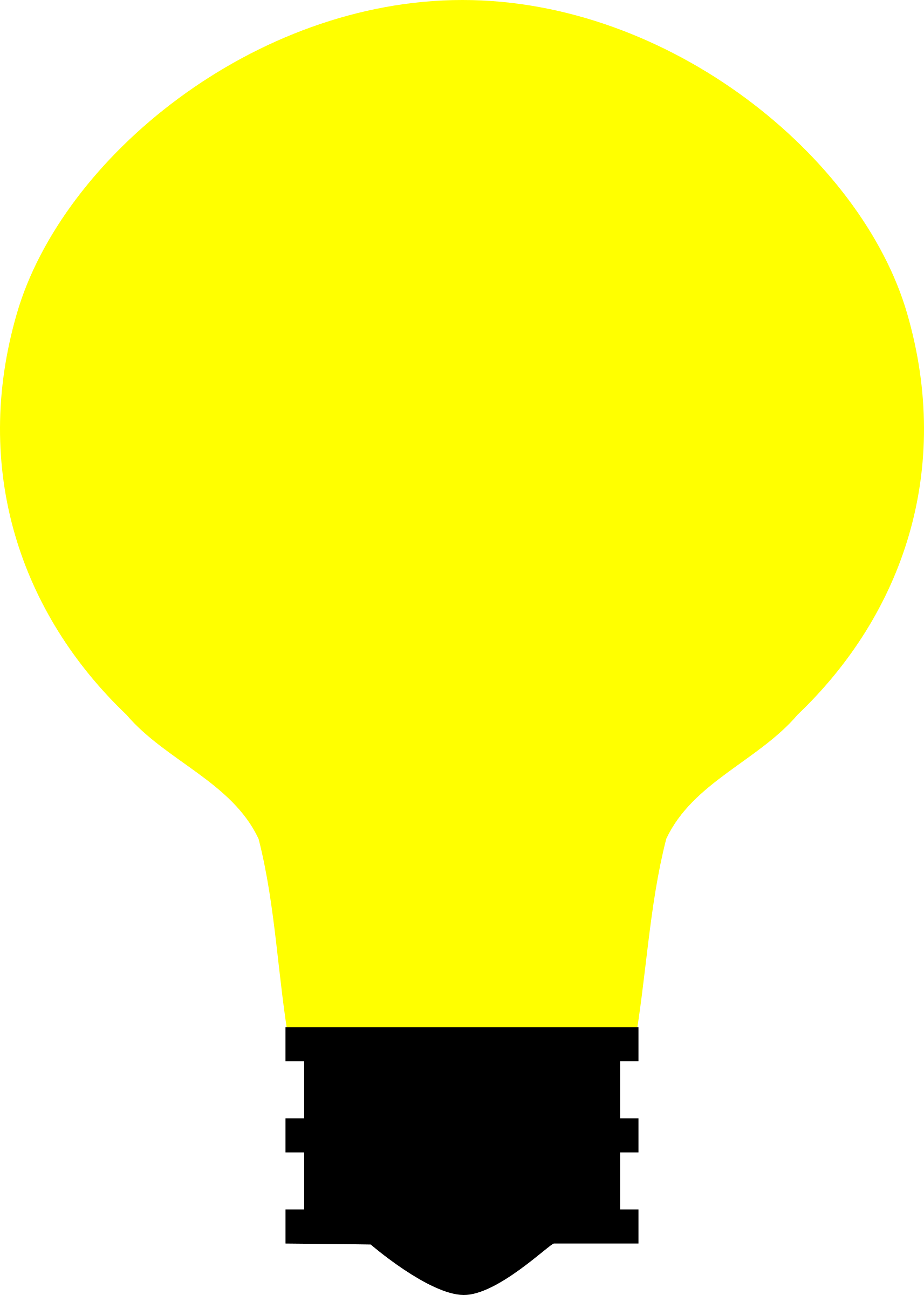 Simple Light Bulb by Toastie