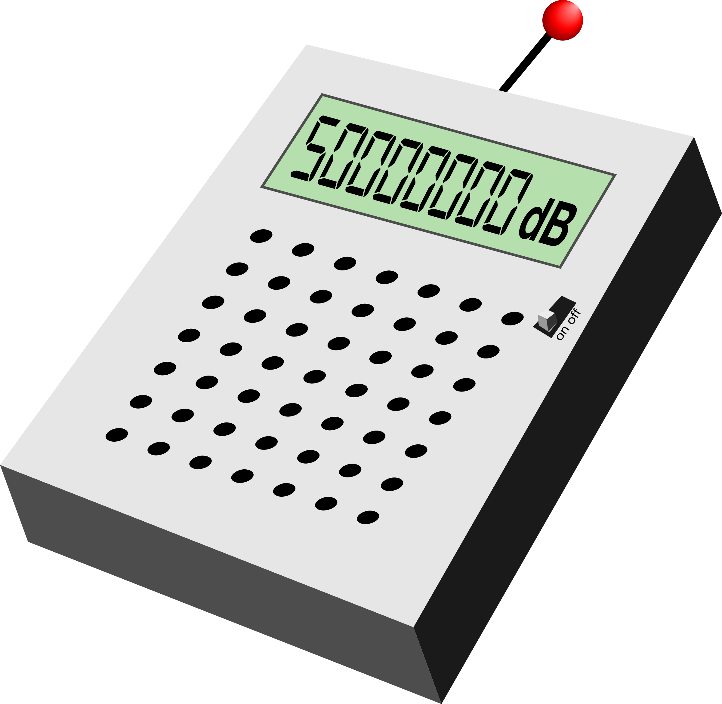 Electronic decibel measurer by jhnri4