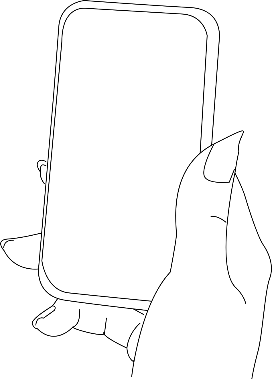 Hand with Smartphone by entropy_eater
