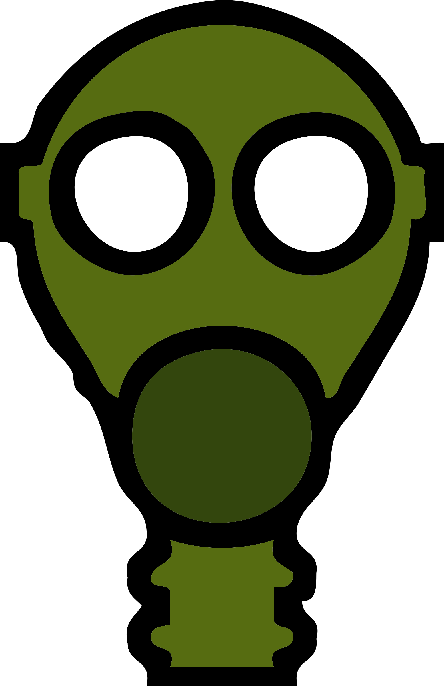 gas mask by johnny_automatic