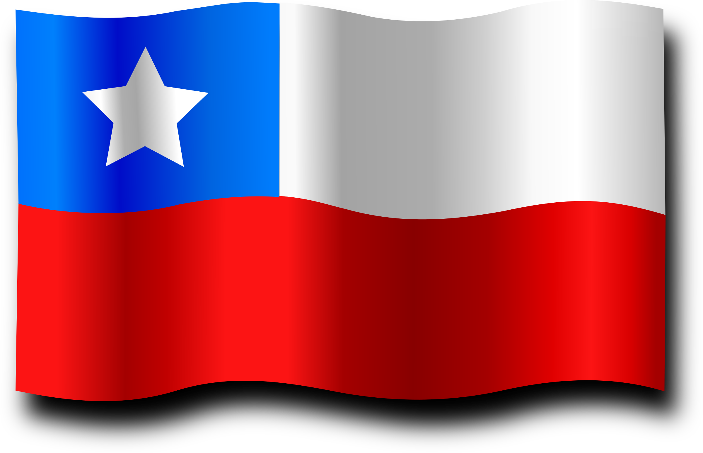Chilean Flag 2 by Merlin2525