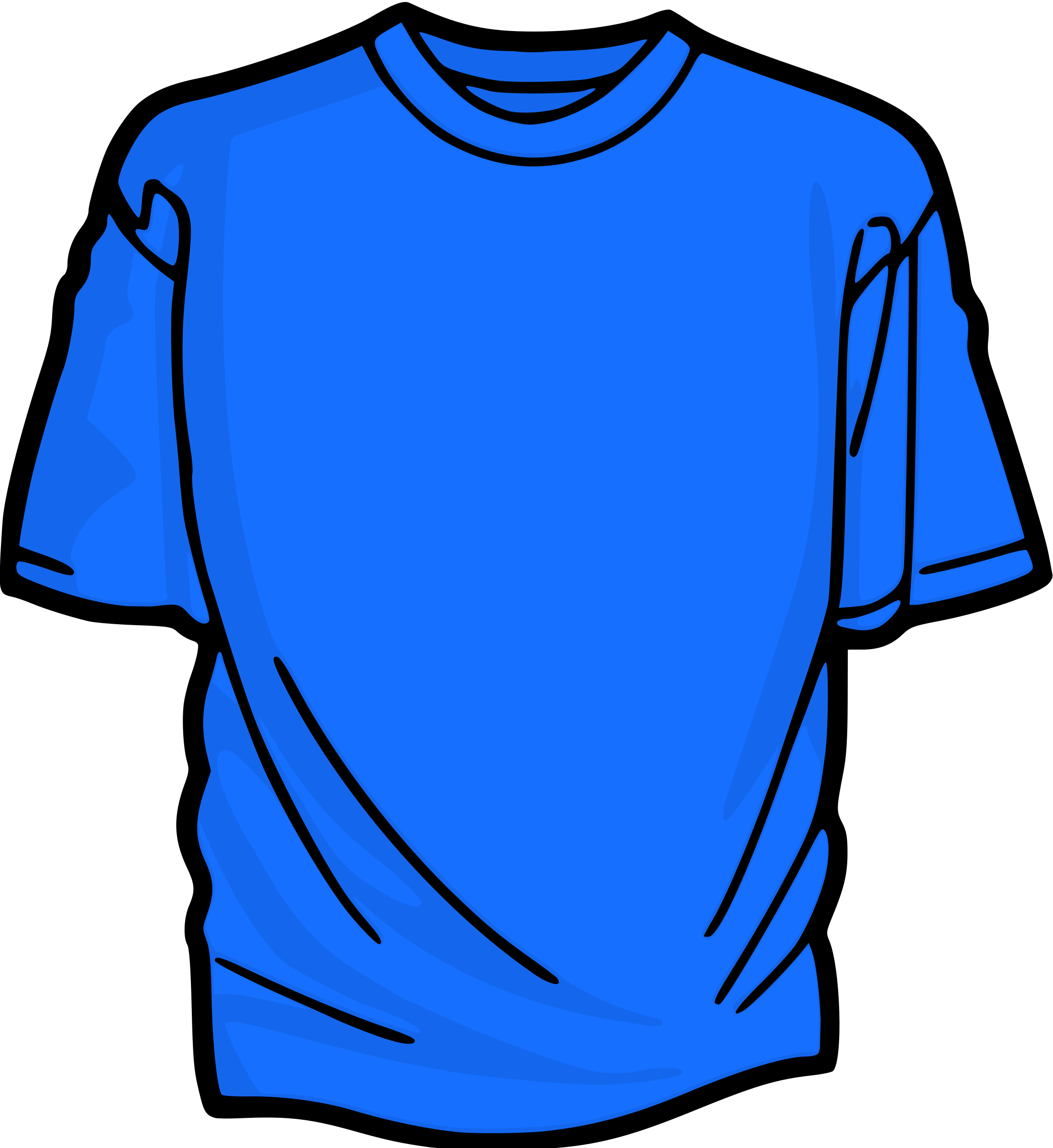 Azure T-Shirt by kuba