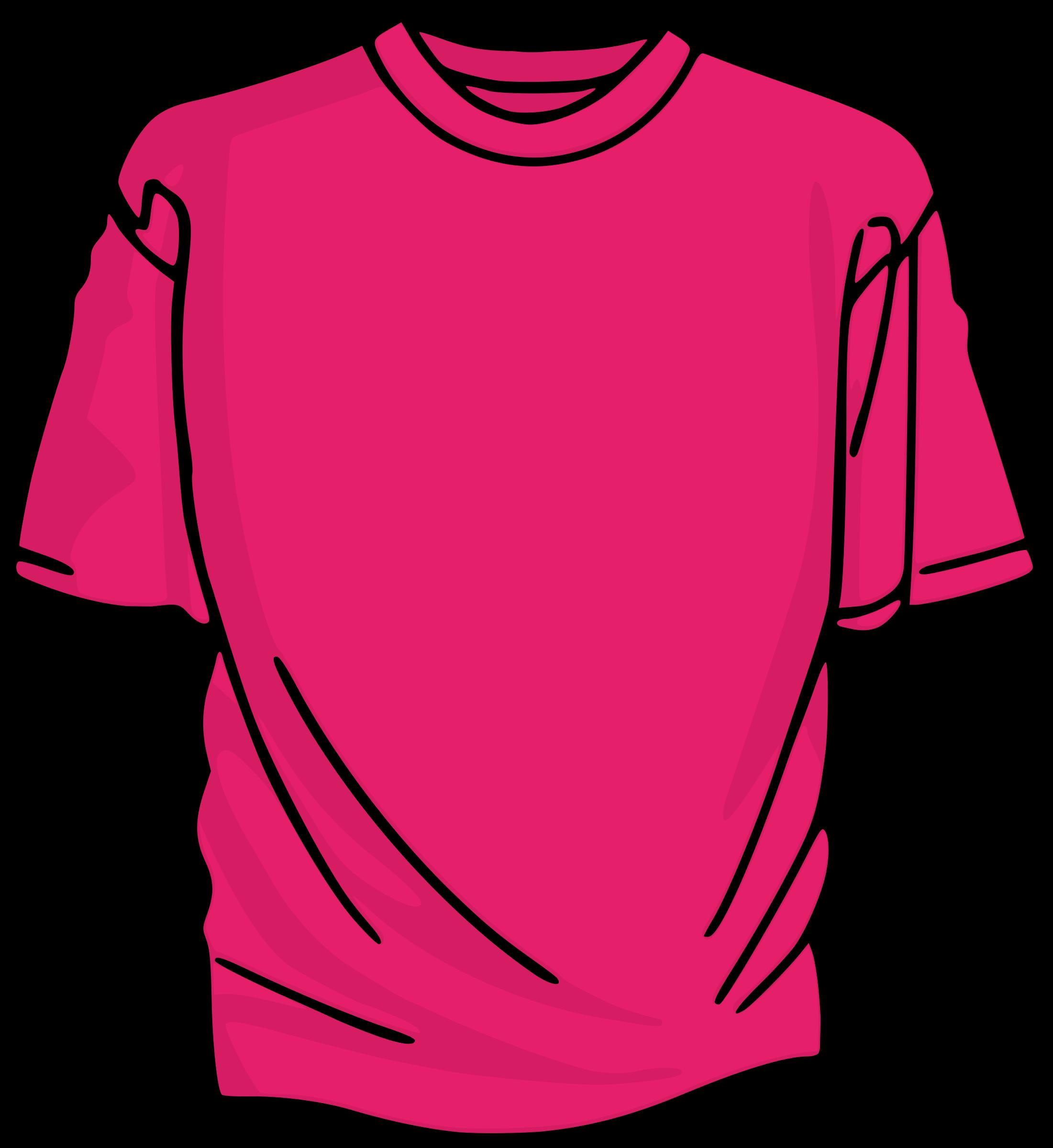Clipart - Pink T-Shirt