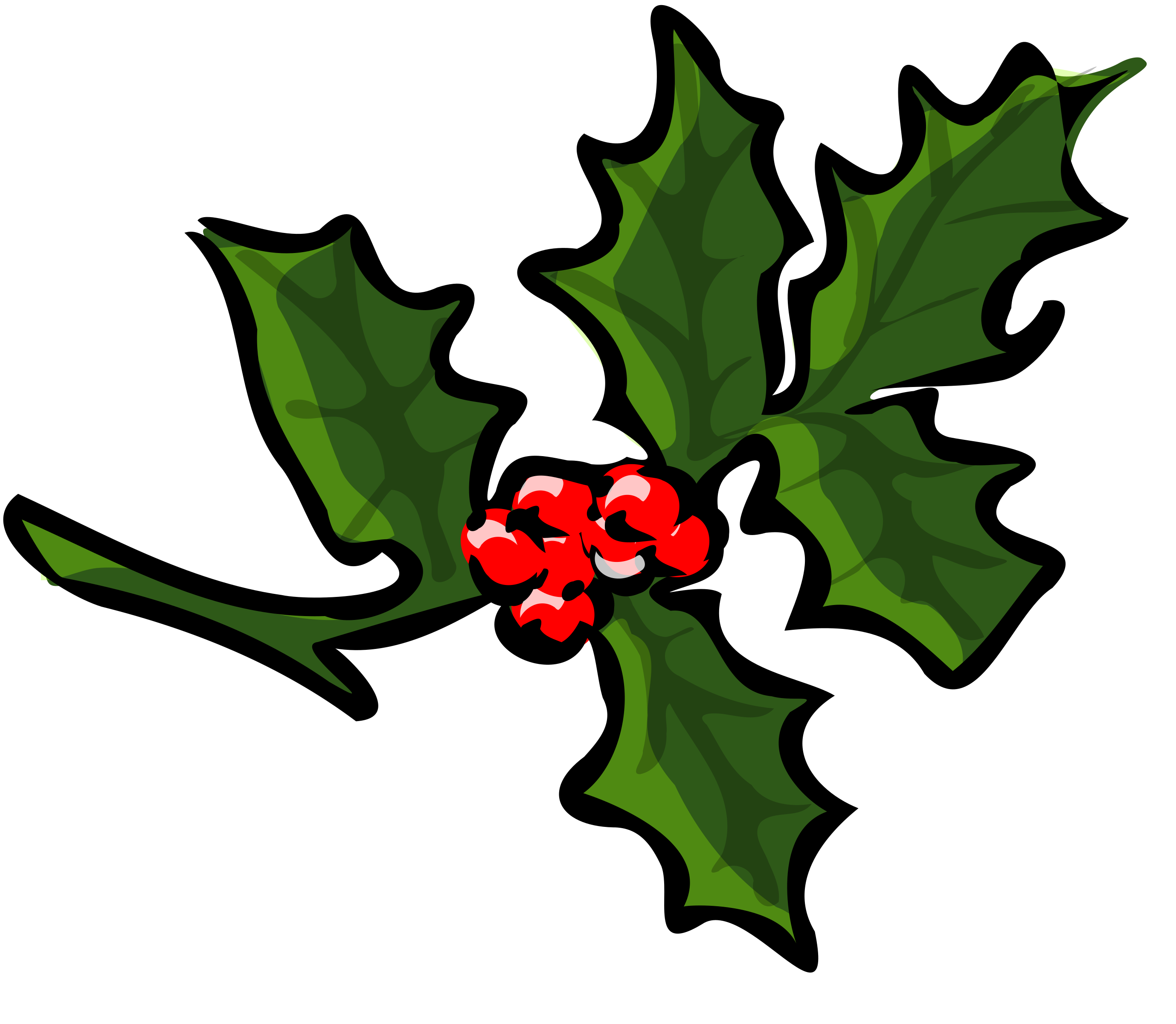 Holly Branch by TheresaKnott