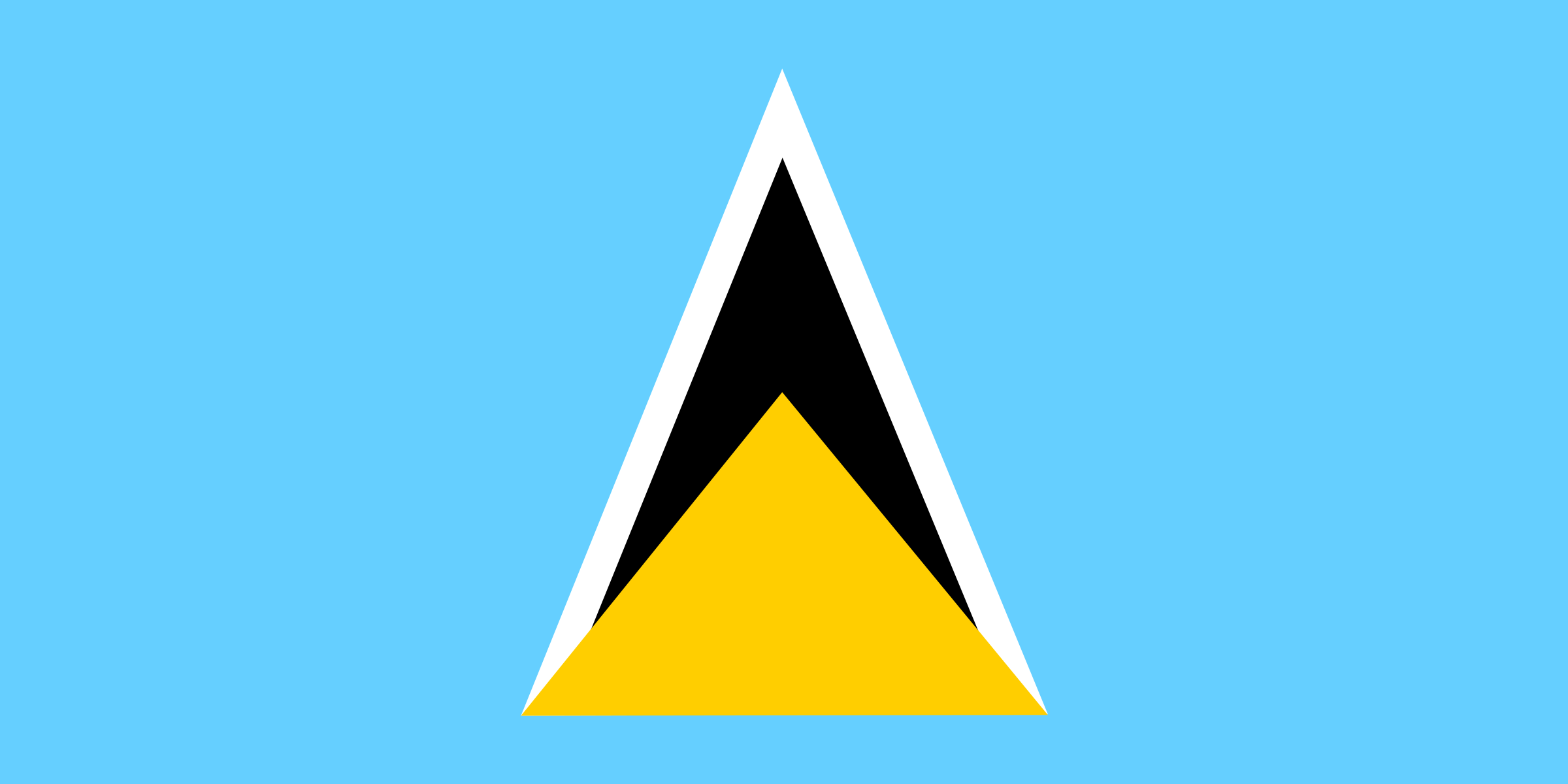 saint lucia by Anonymous