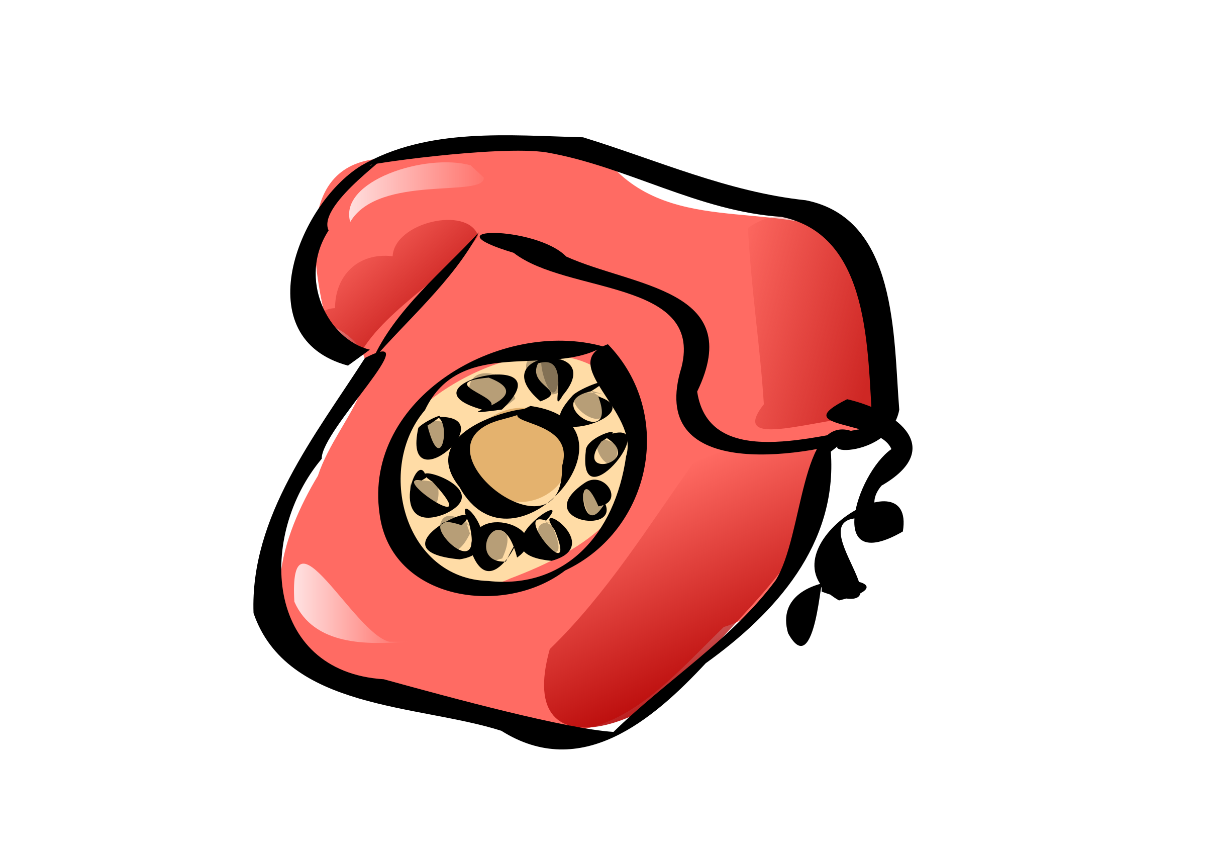 classic phone zazou by openclipart_test