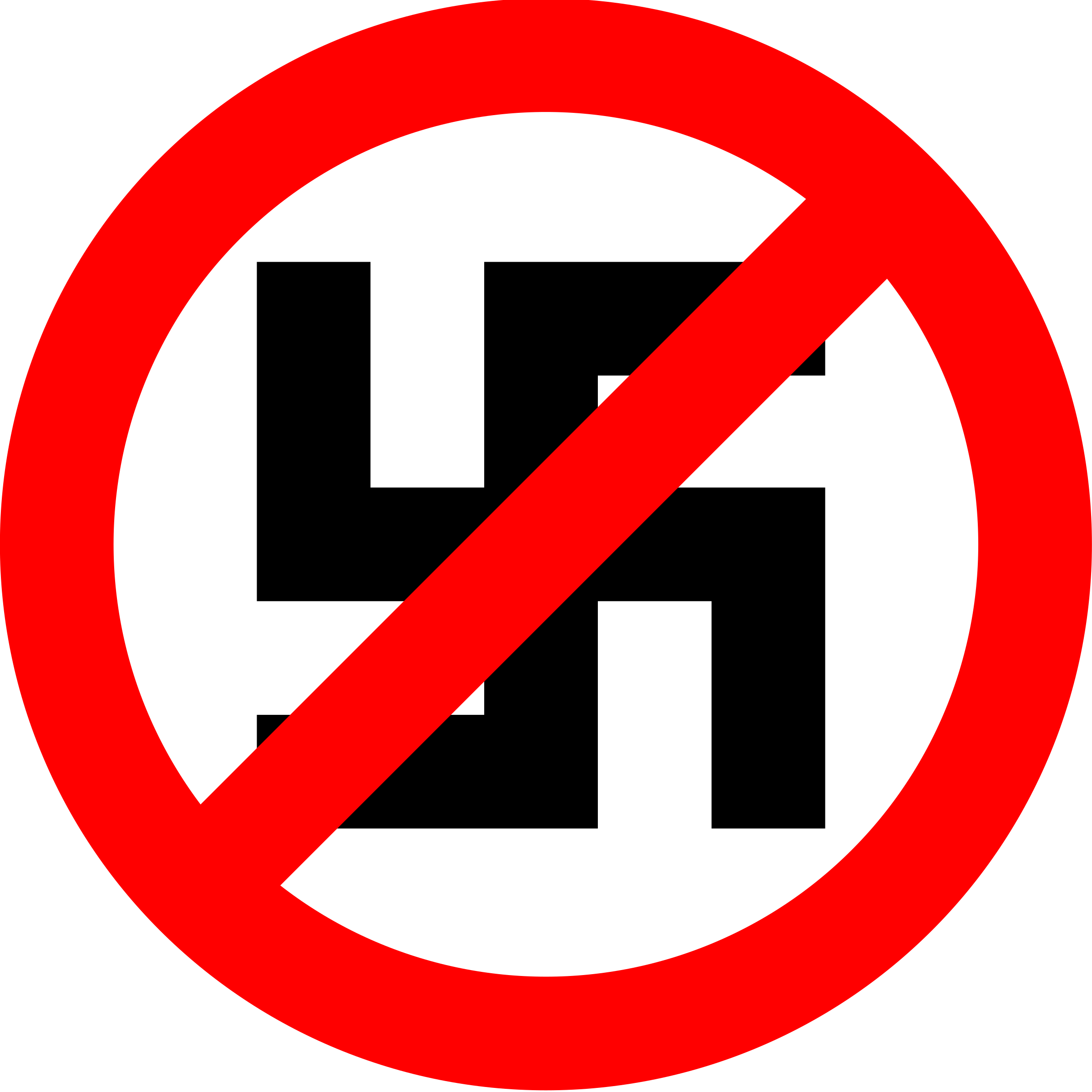 Anti-Nazi Symbol by liftarn