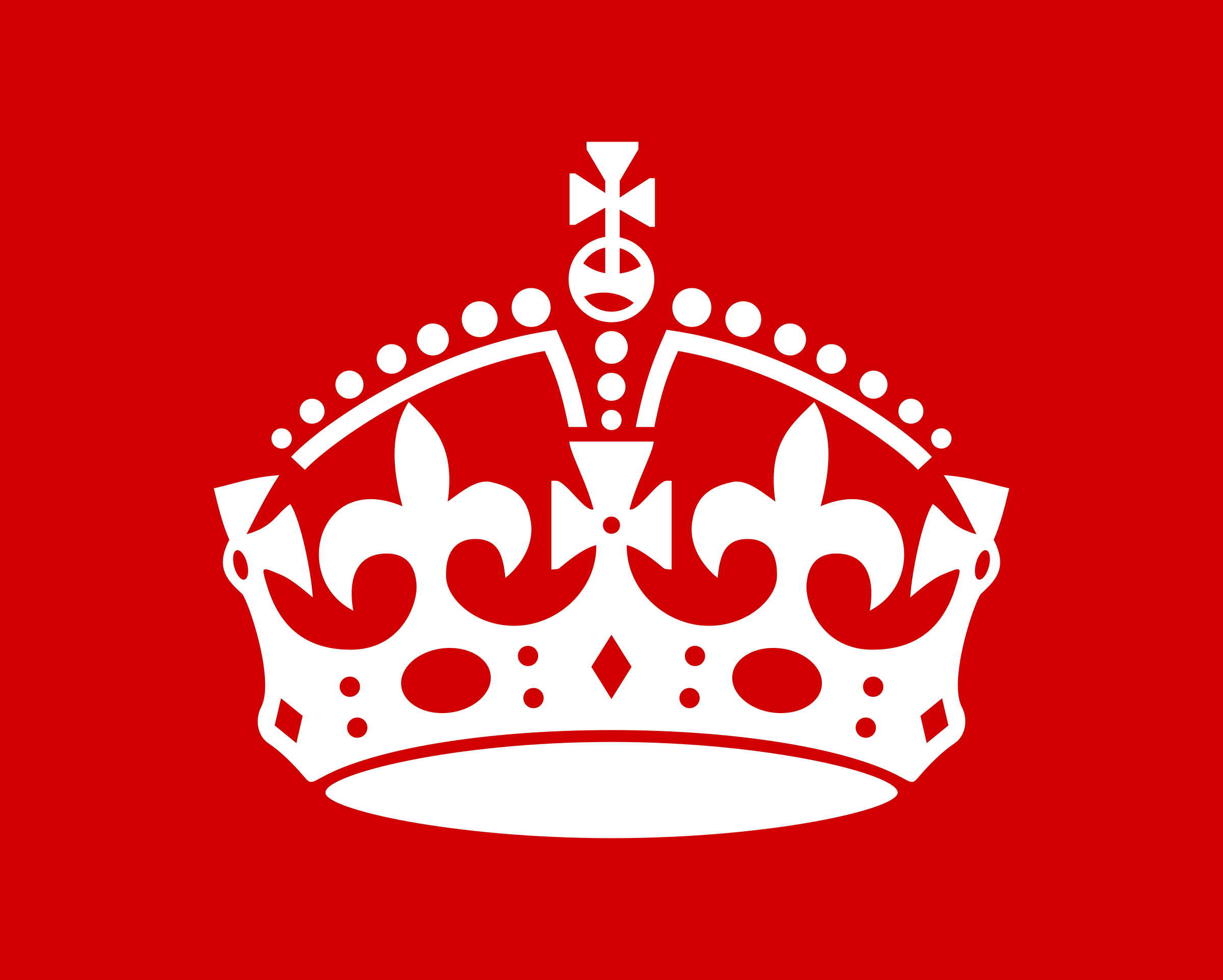 Clipart - British Crown by Rones