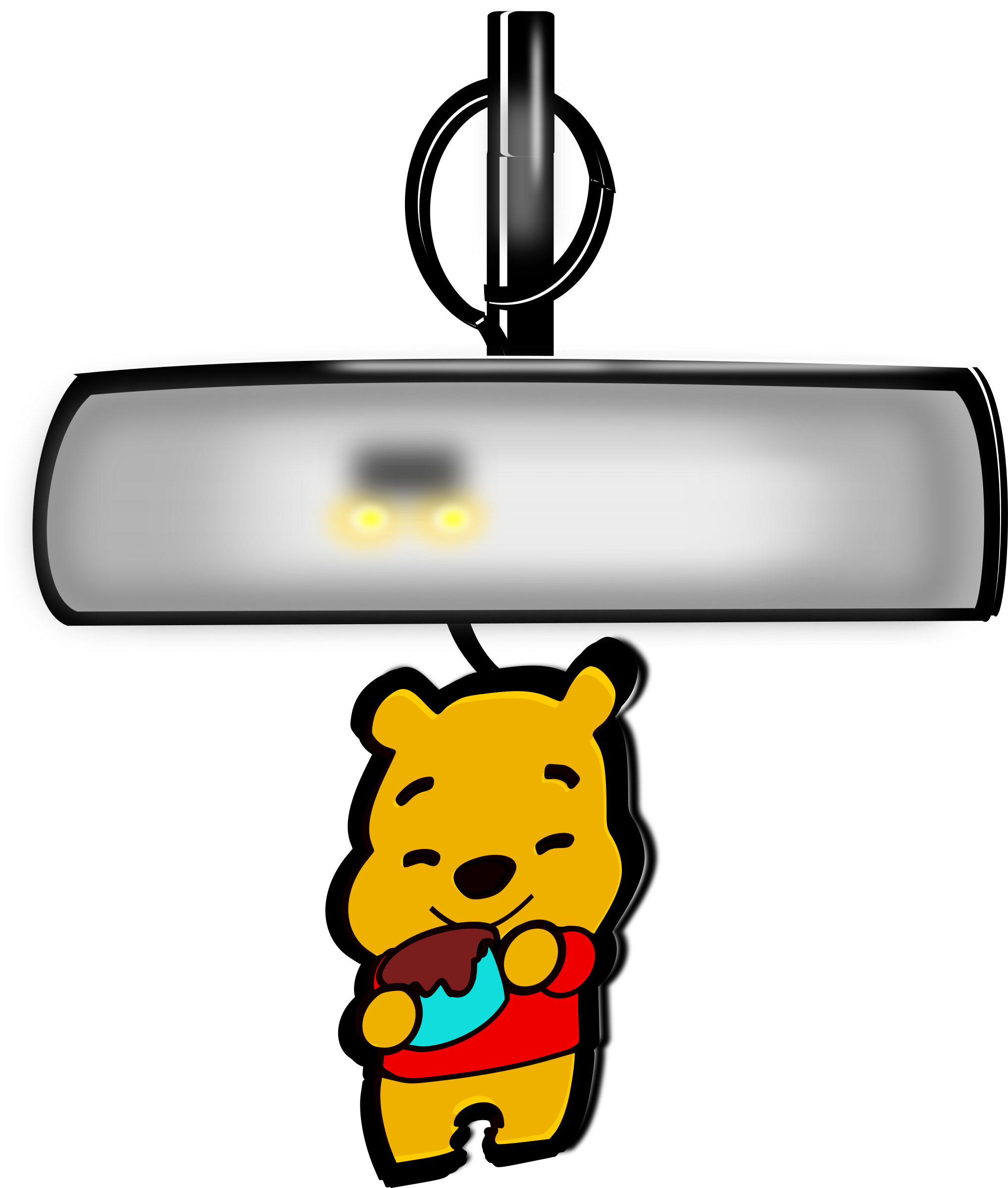 winnie pooh air freshener by inkscapeforum.it