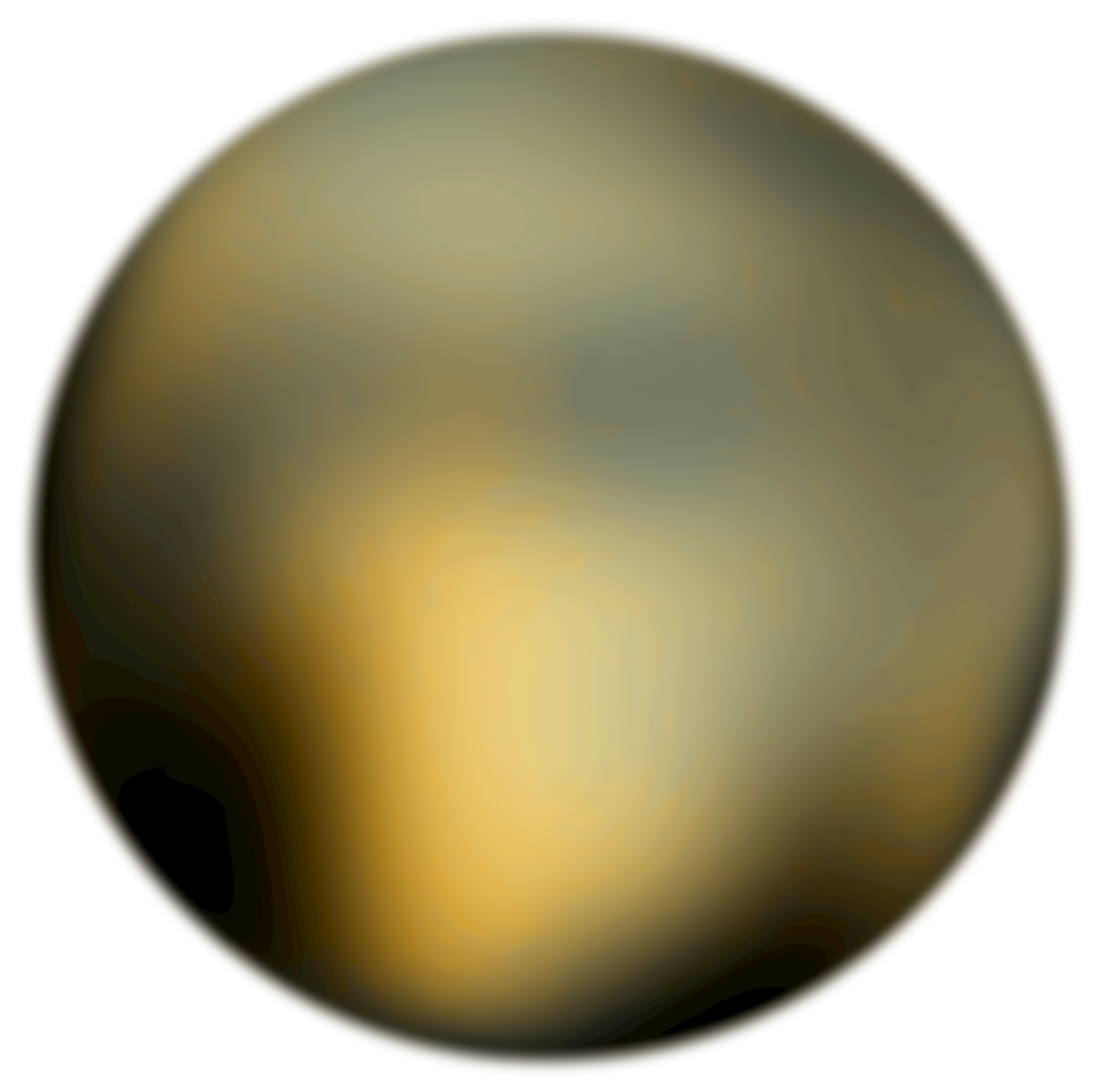 Pluto 180 Degree Face From Hubble Telescope by Merlin2525
