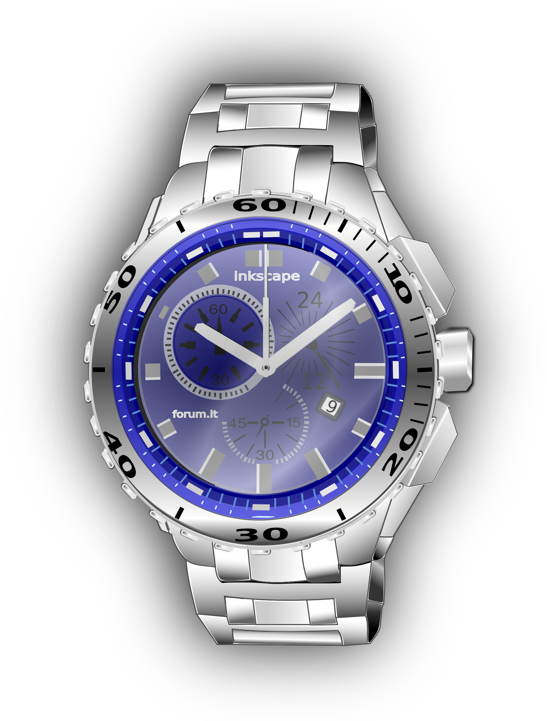 Orologio by inkscapeforum.it