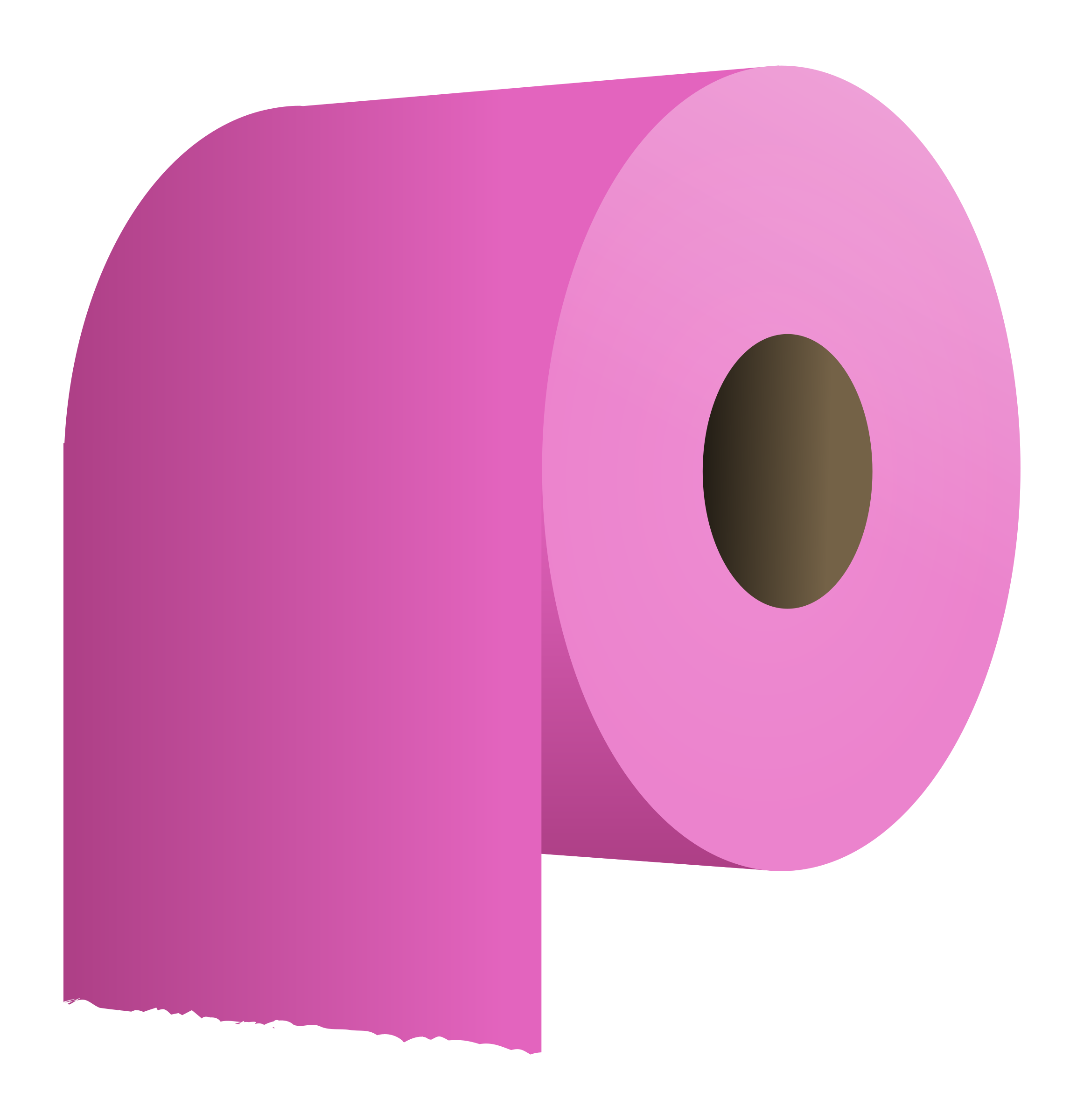 toilet paper roll by molumen