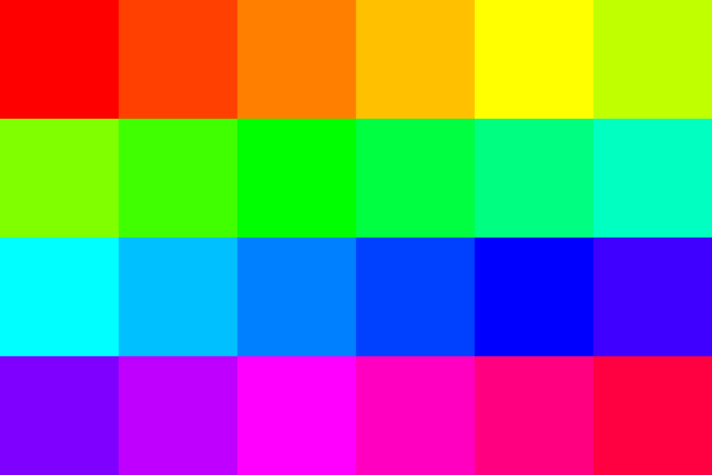 24 color palette by 10binary