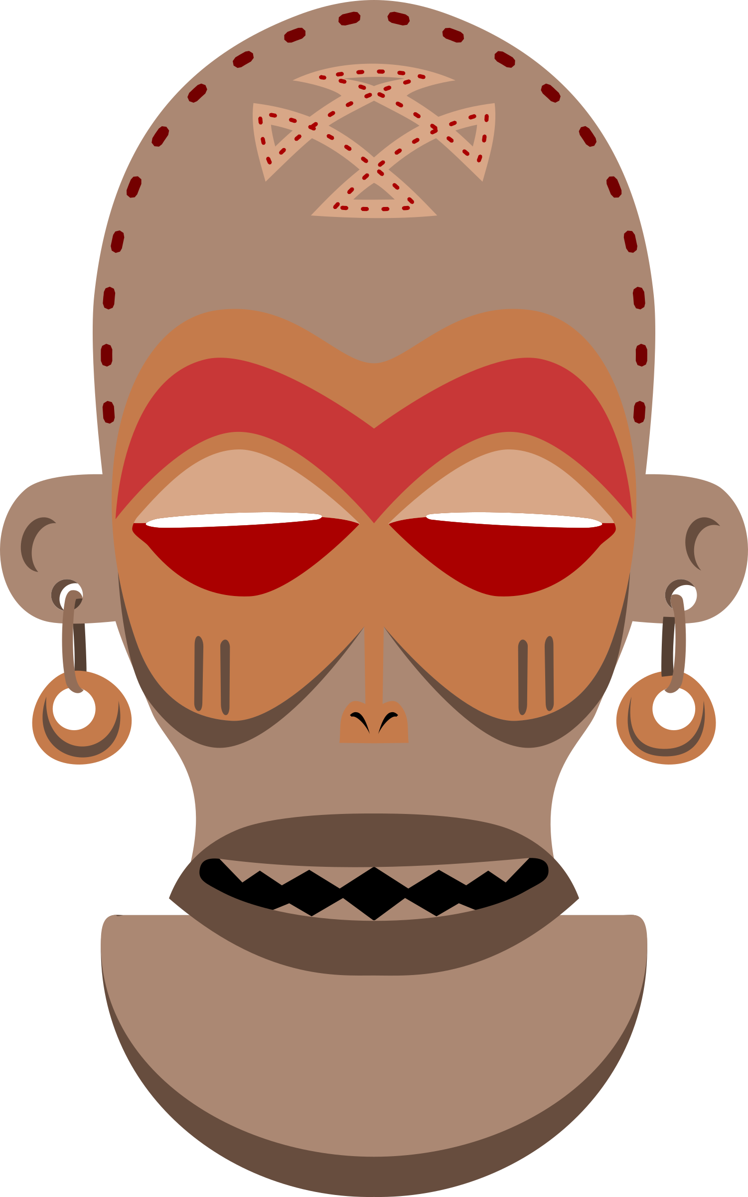 African Mask. Chokwe, Angola, Zaire by rones