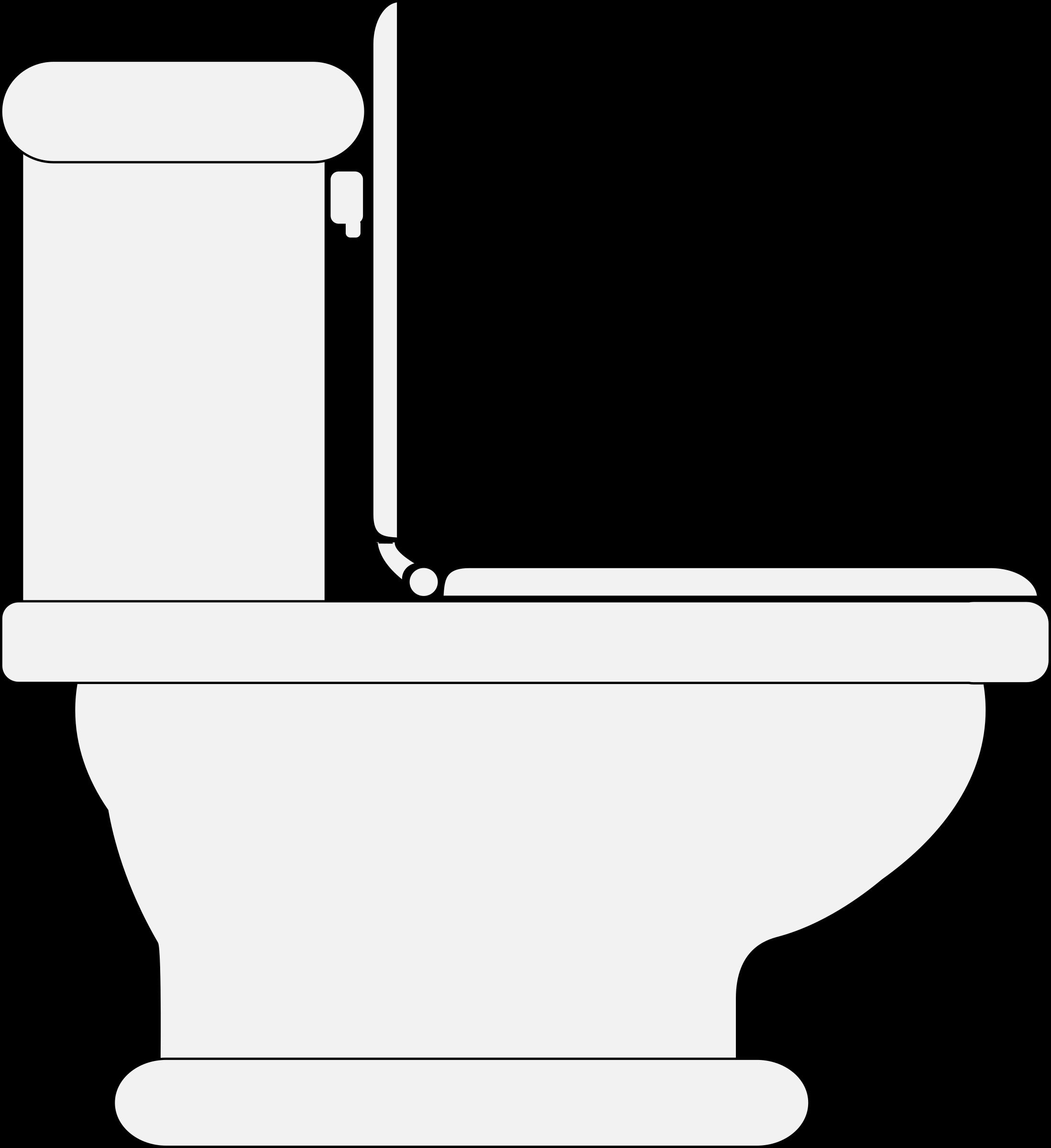 Clipart Toilet Seat Open