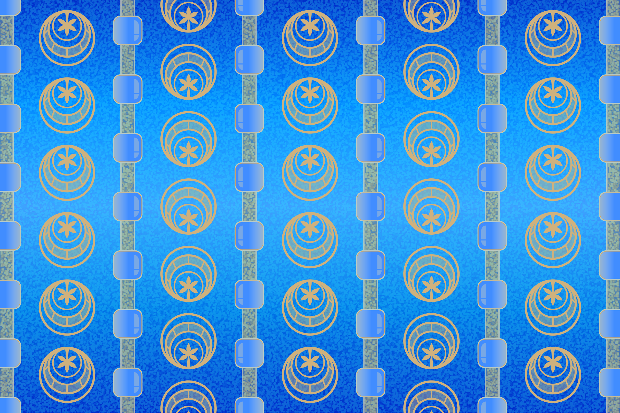 Background Patterns - Cerulean by Viscious-Speed