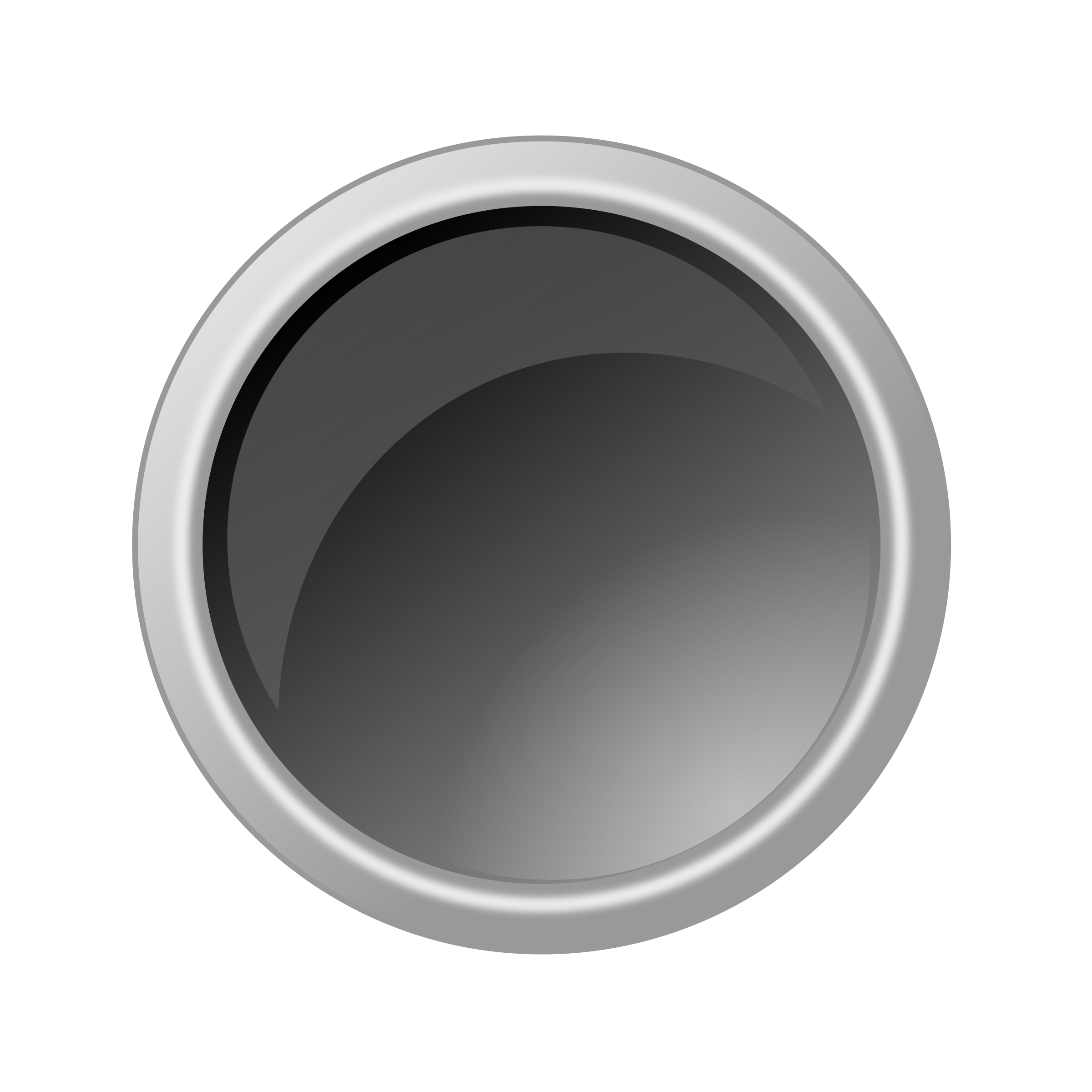 glossy darkgray button by ricardomaia