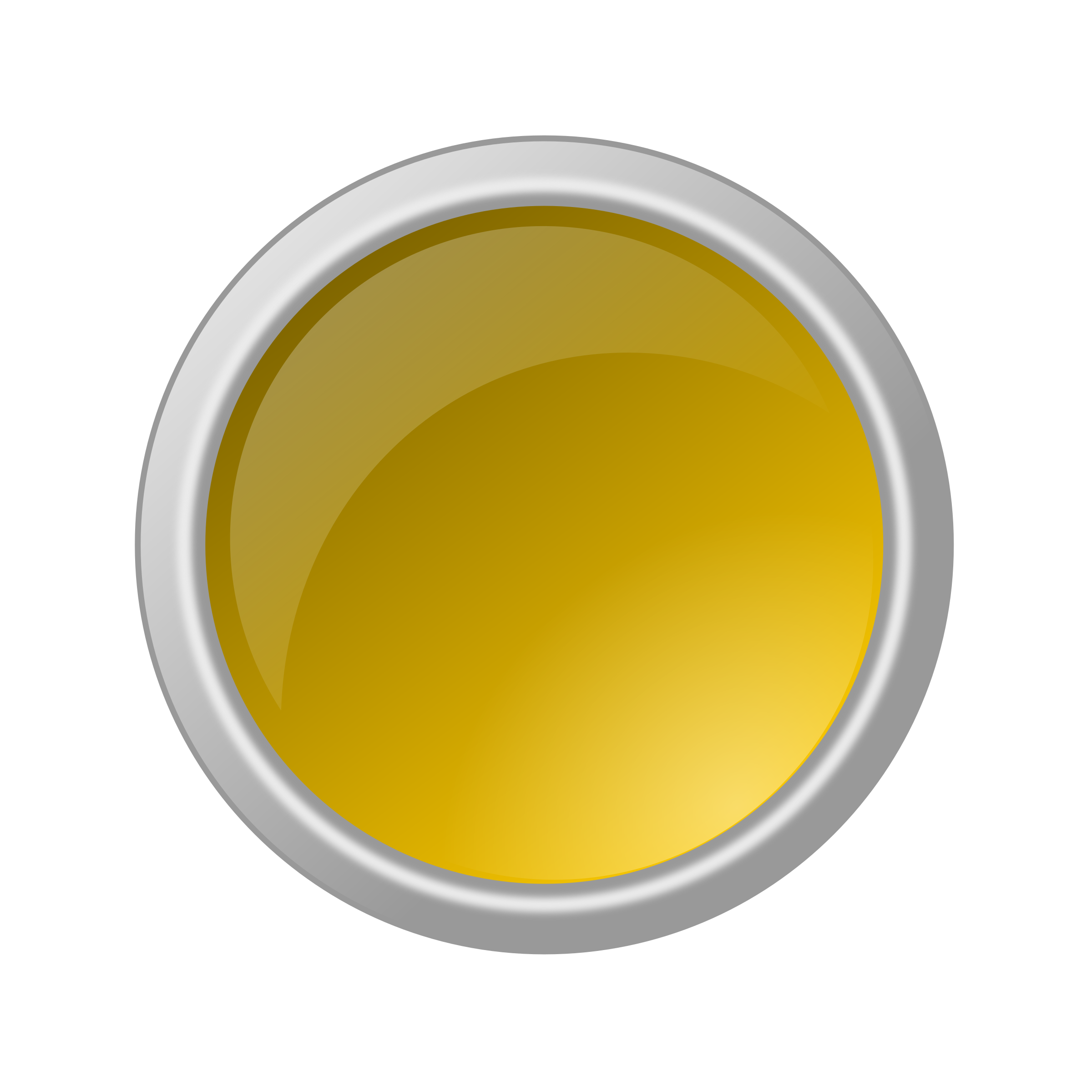 glossy yellow button by ricardomaia