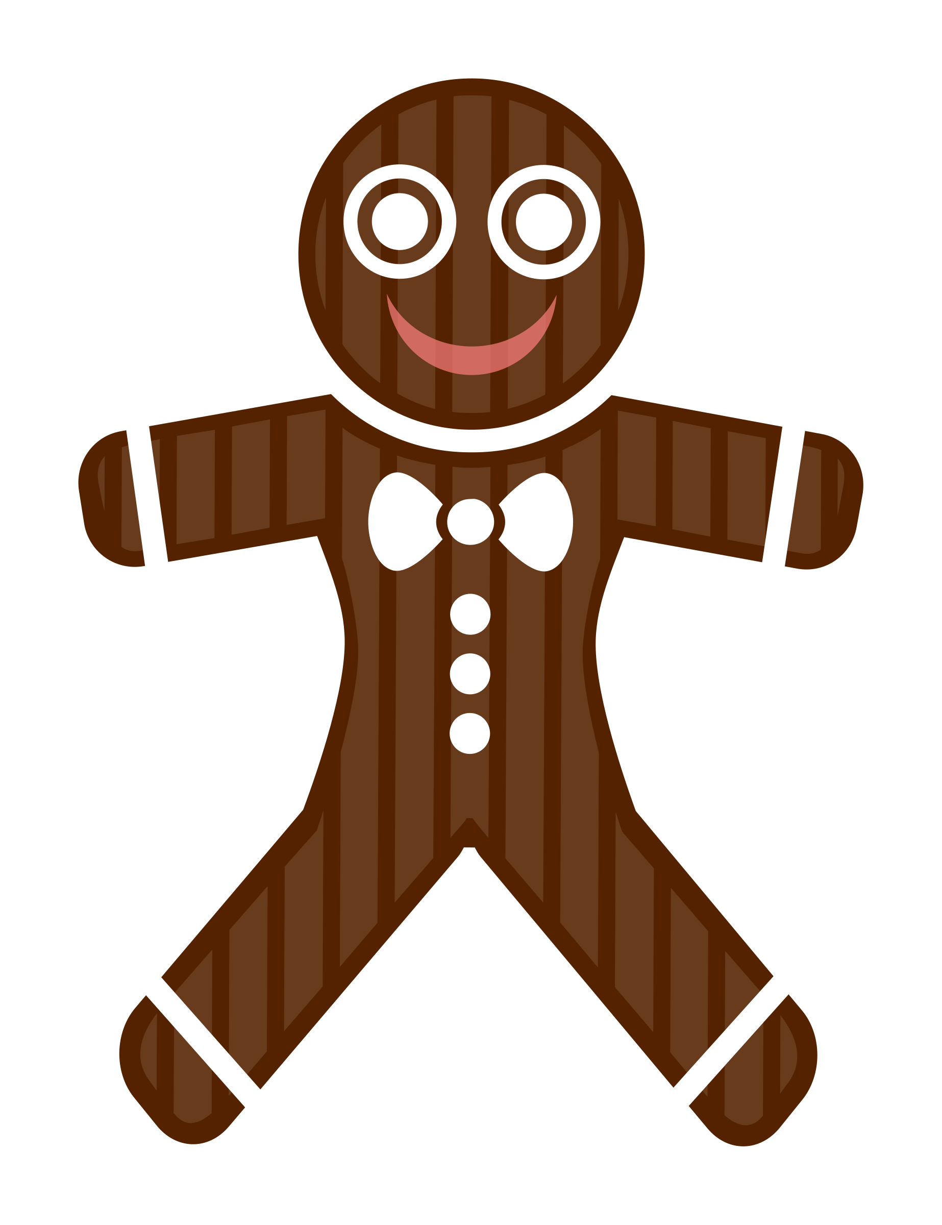 Gingerbread Man by Viscious-Speed