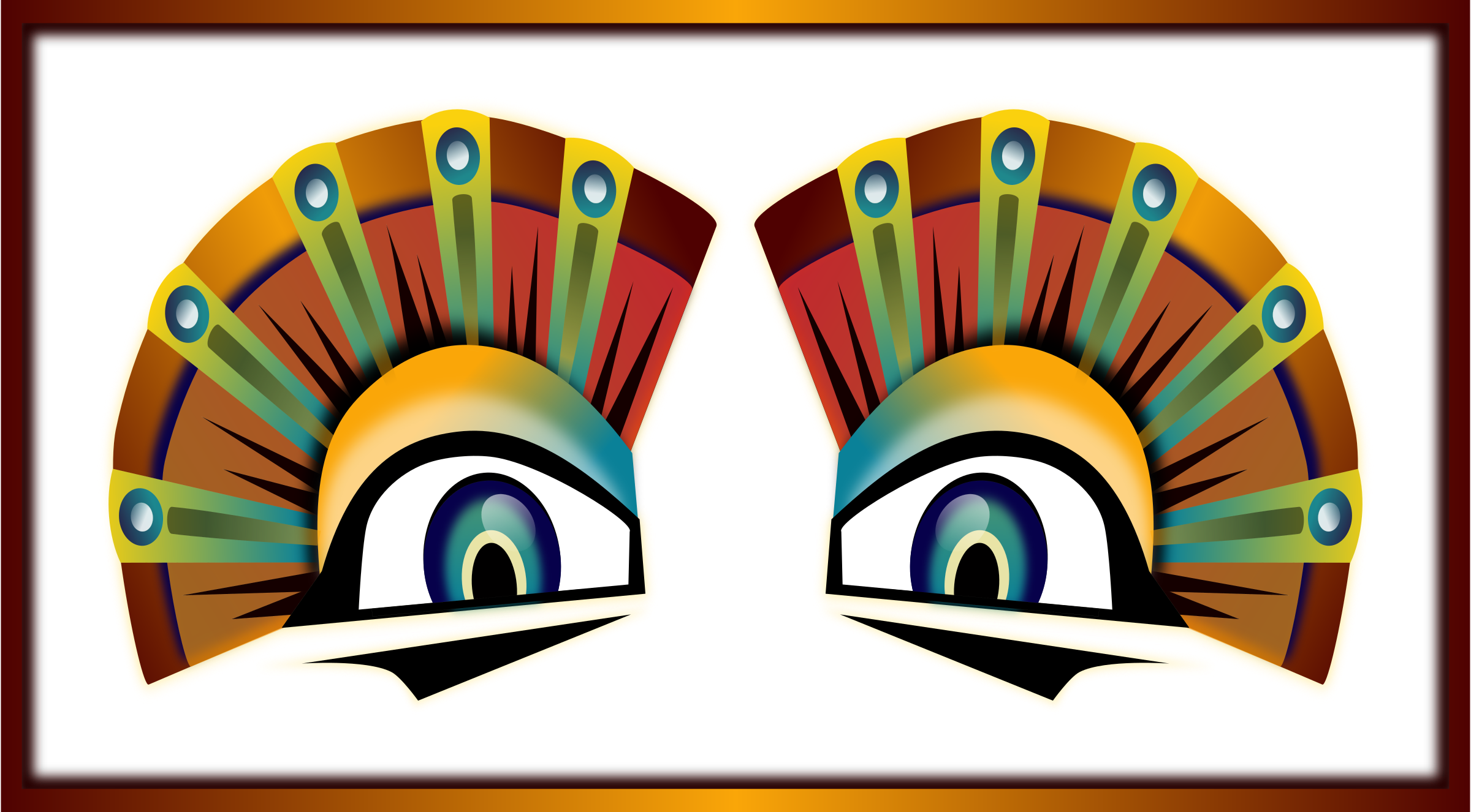 Colorful Sphinx Eyes by Viscious-Speed