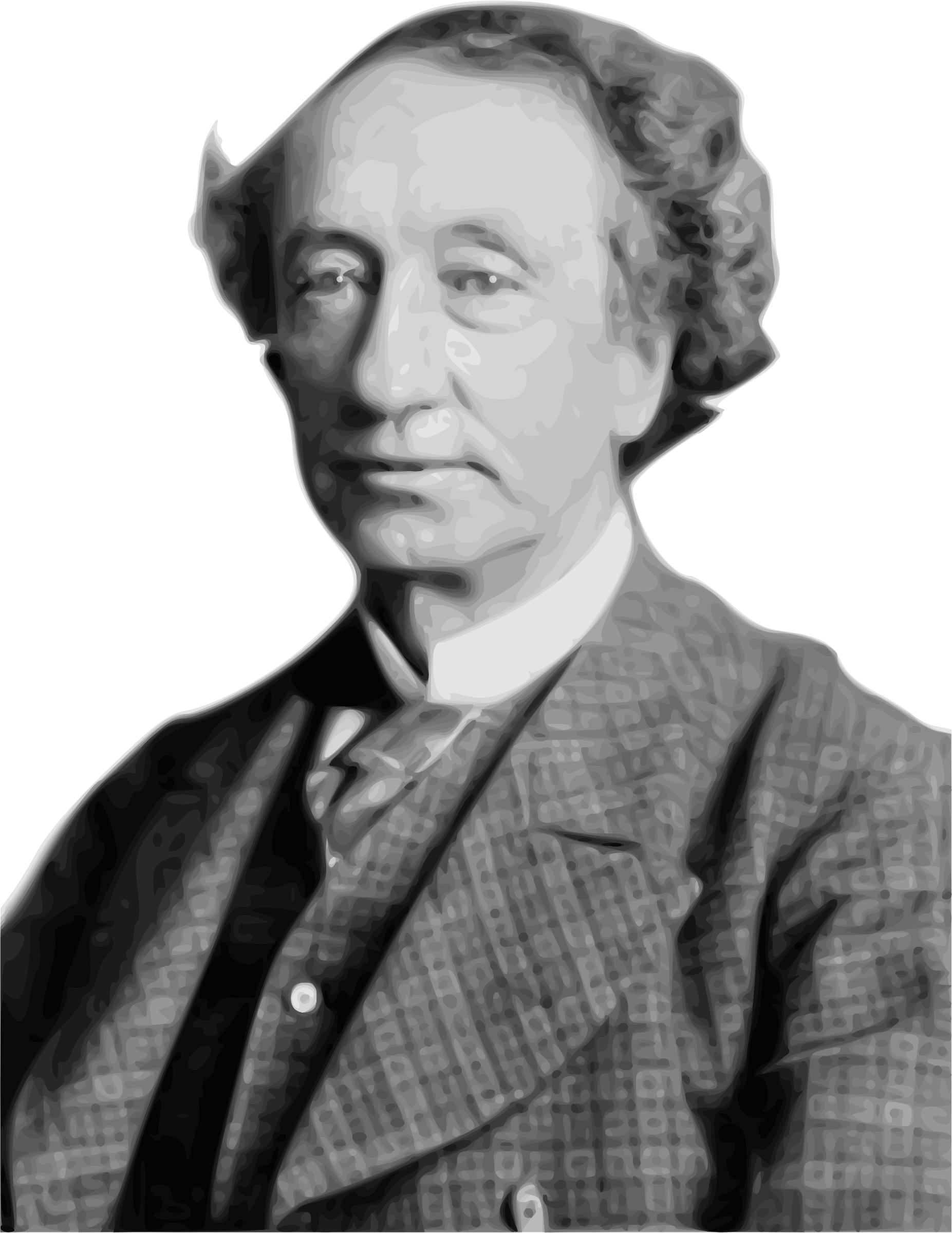 Sir John A. Macdonald 1st Prime Minister of Canada by Merlin2525