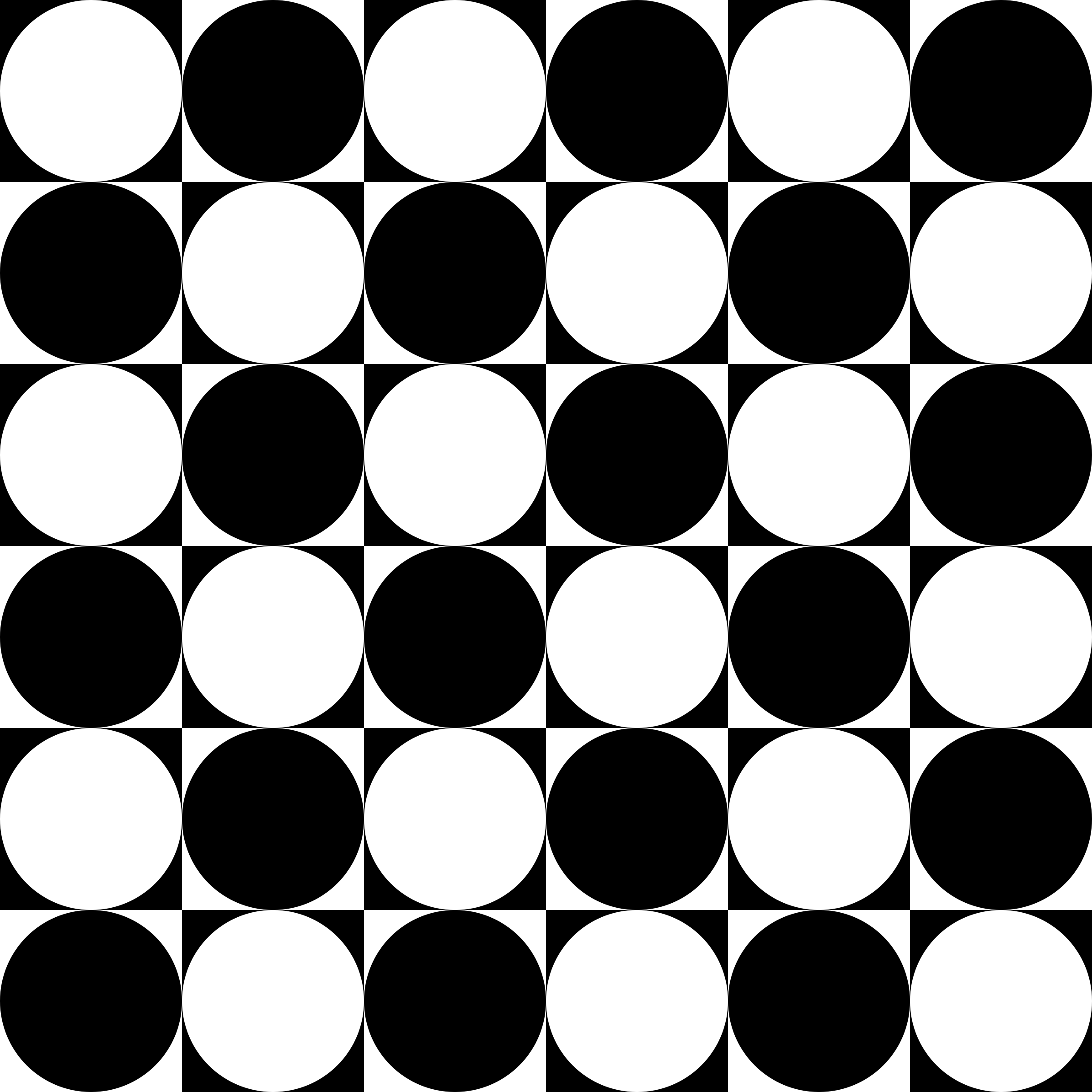 circles inside chessboard by 10binary