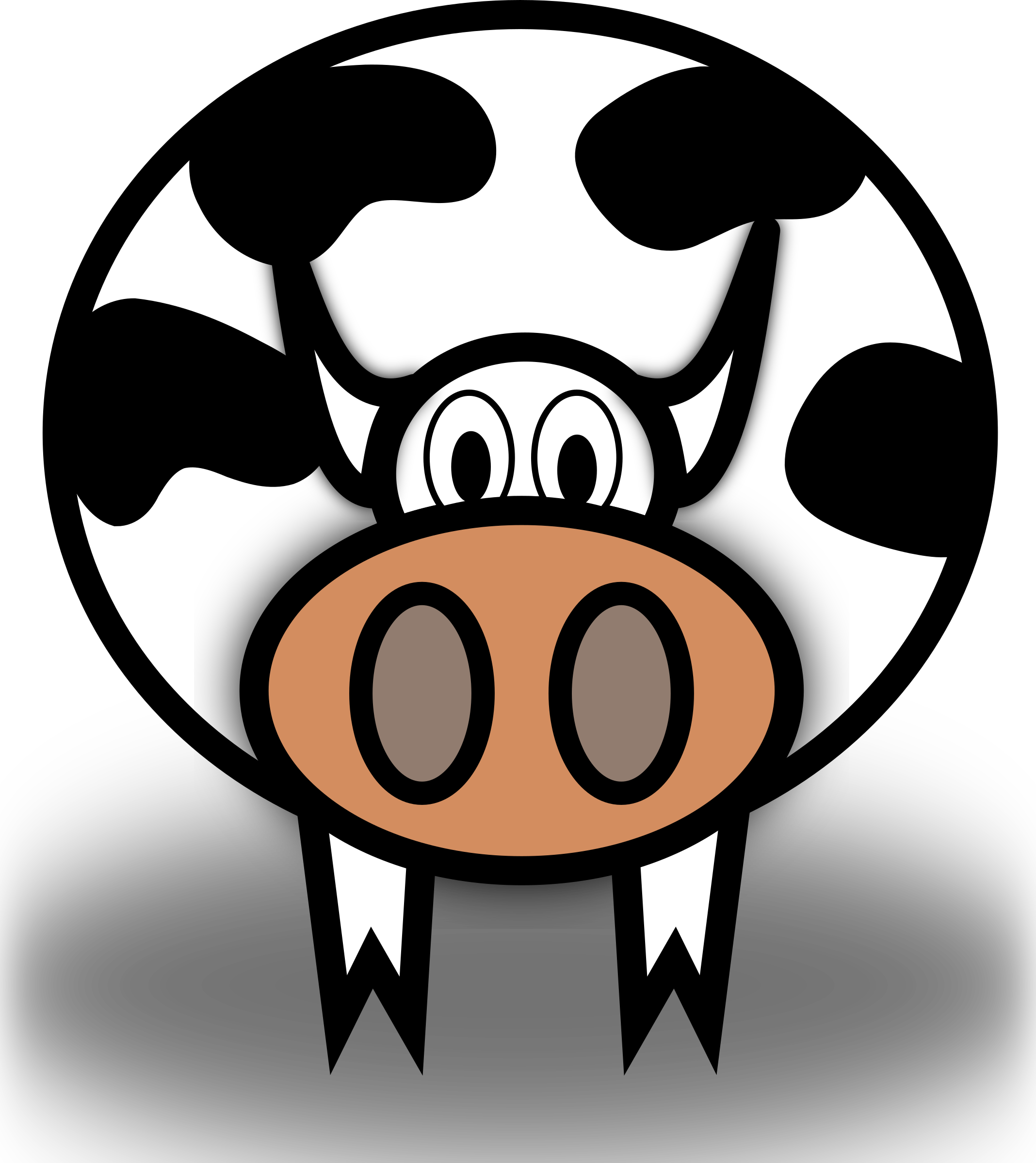 Cow by bsantos