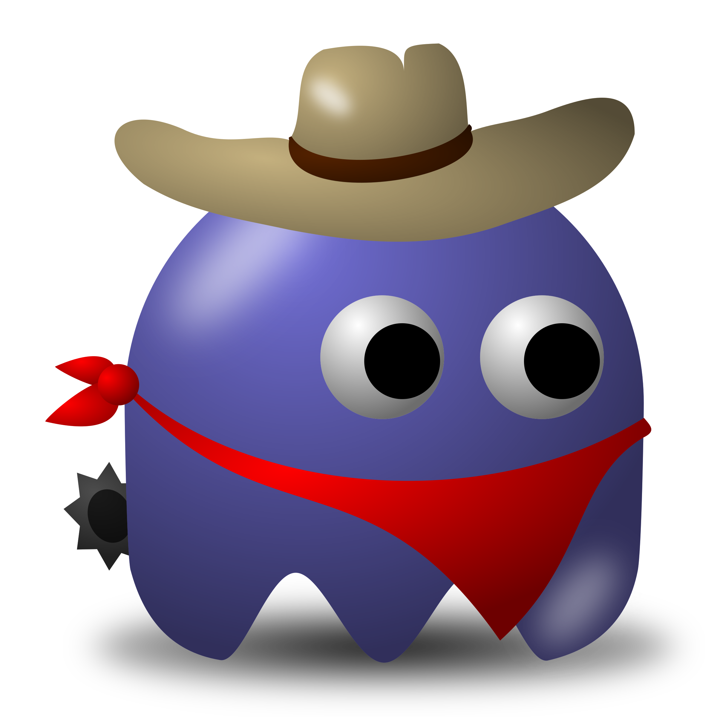 Game baddie: Cowboy by nicubunu