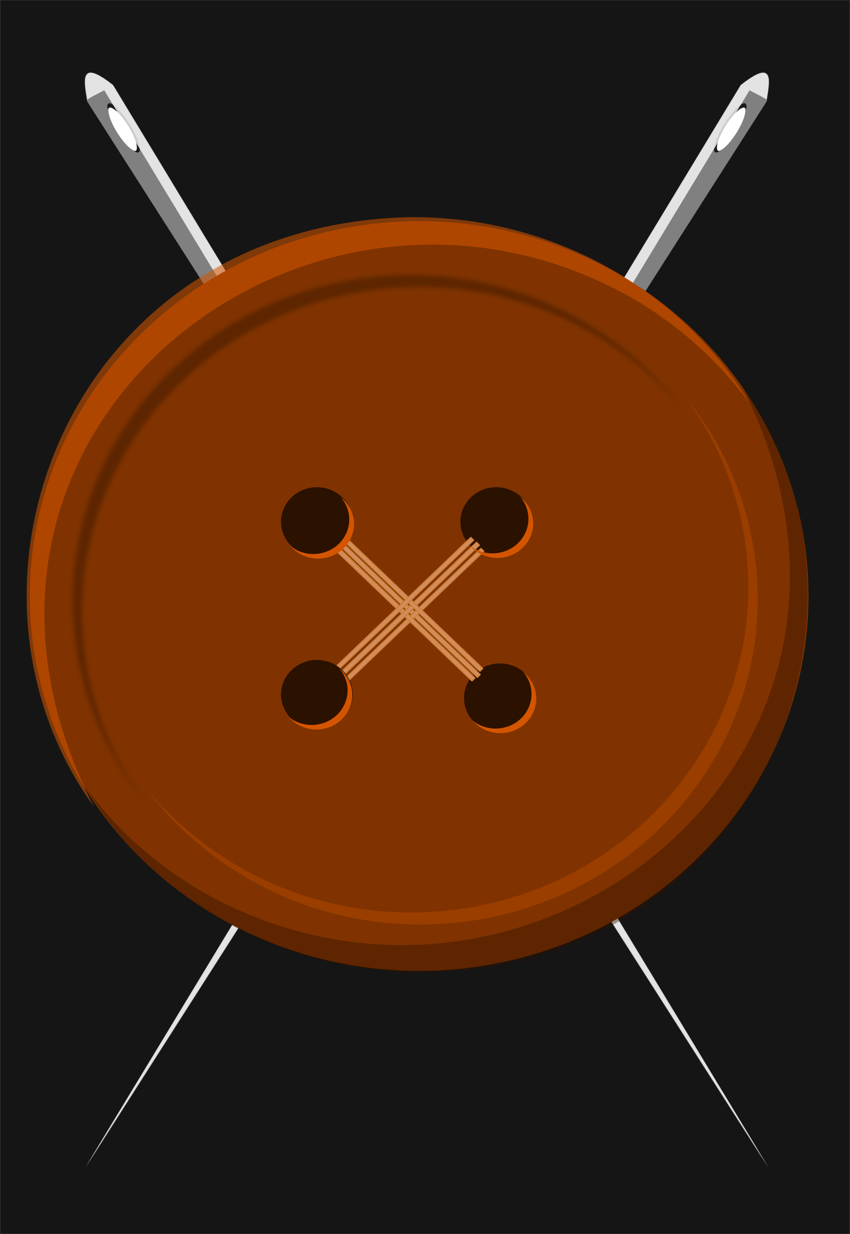 button and needles by pauthonic