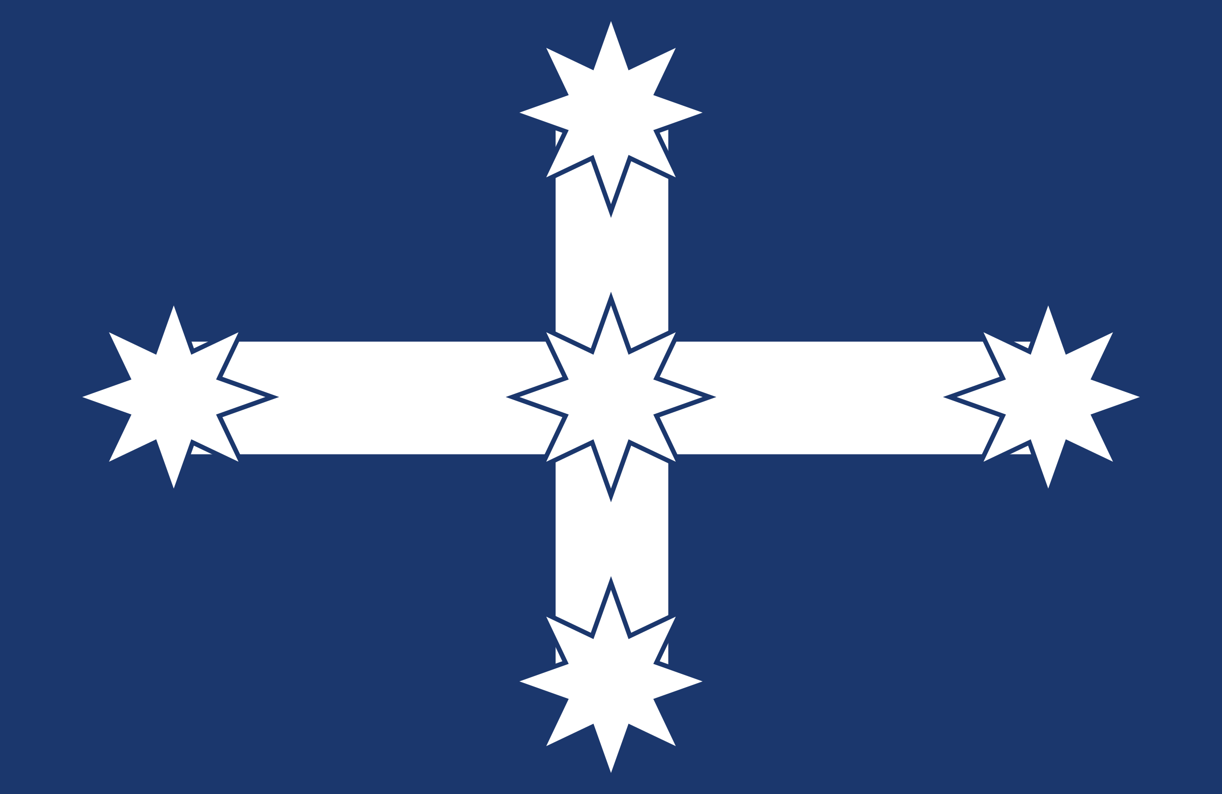 Australia Eureka flag by Anonymous