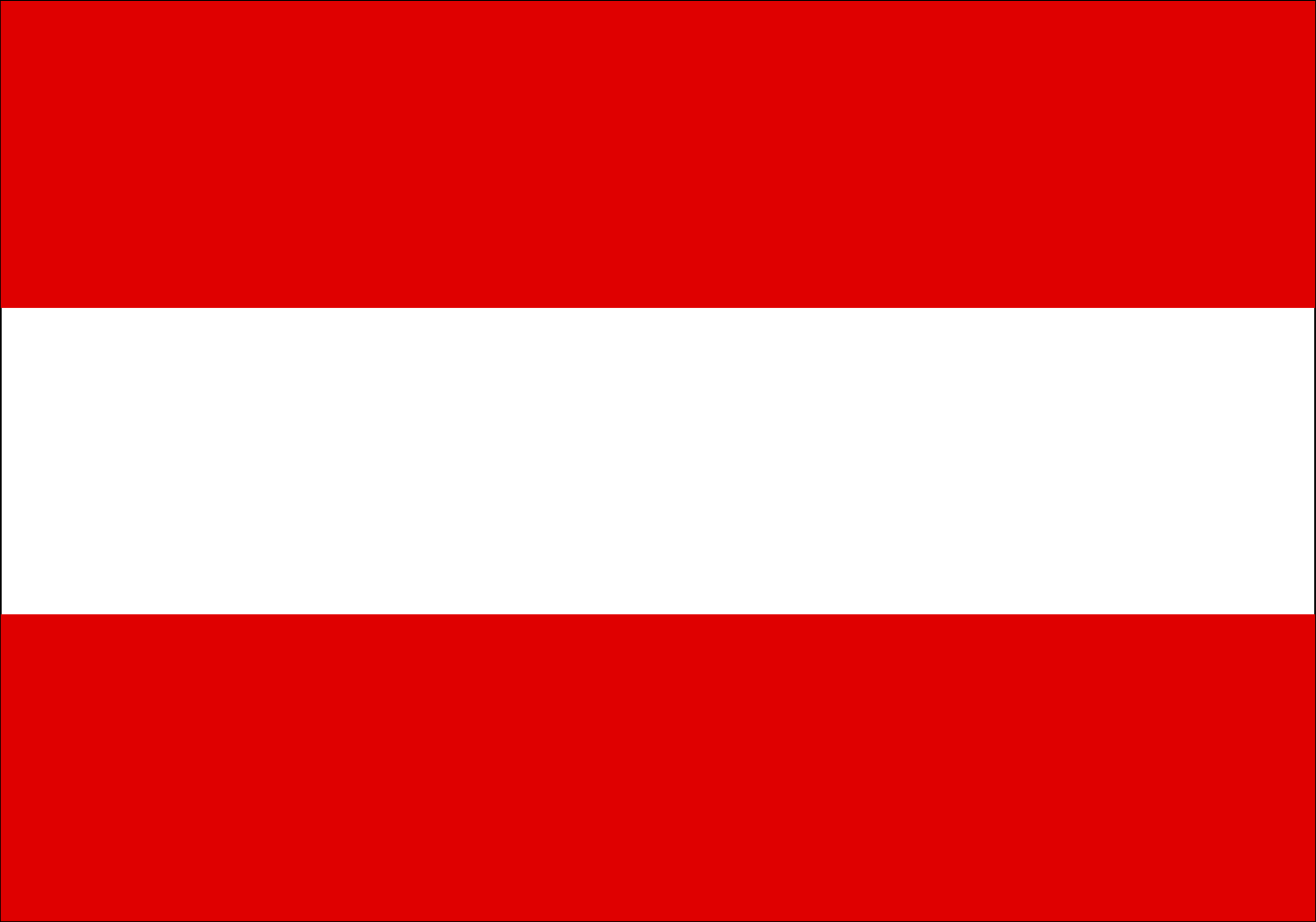 Flag of Austria by Anonymous