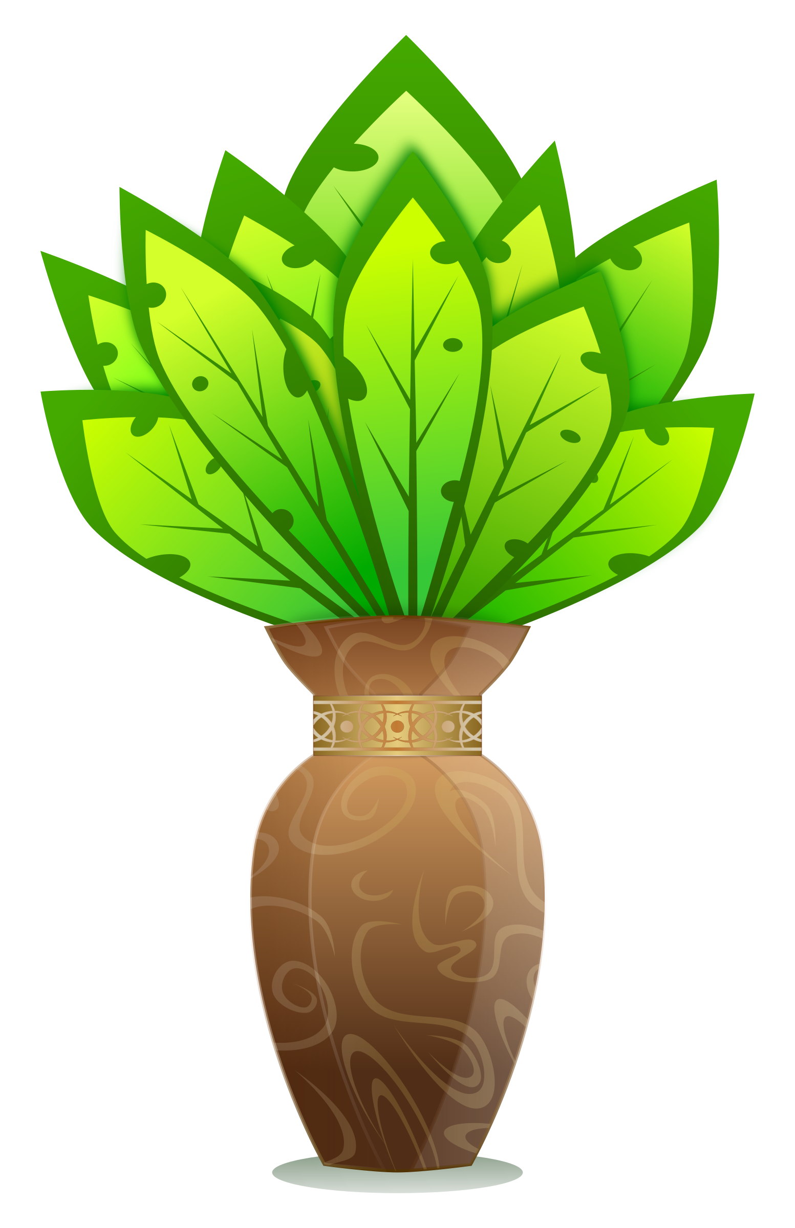 Plant And Vase / Planter by Viscious-Speed