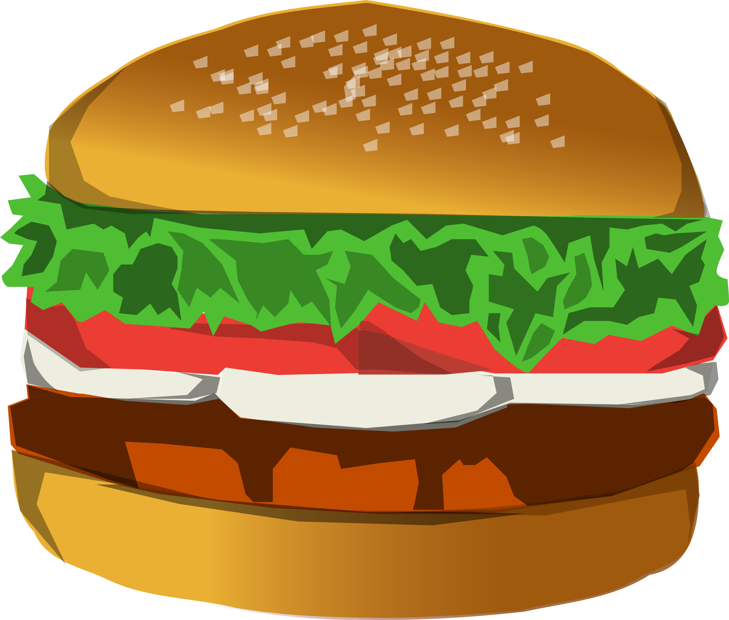 Burger by Anonymous
