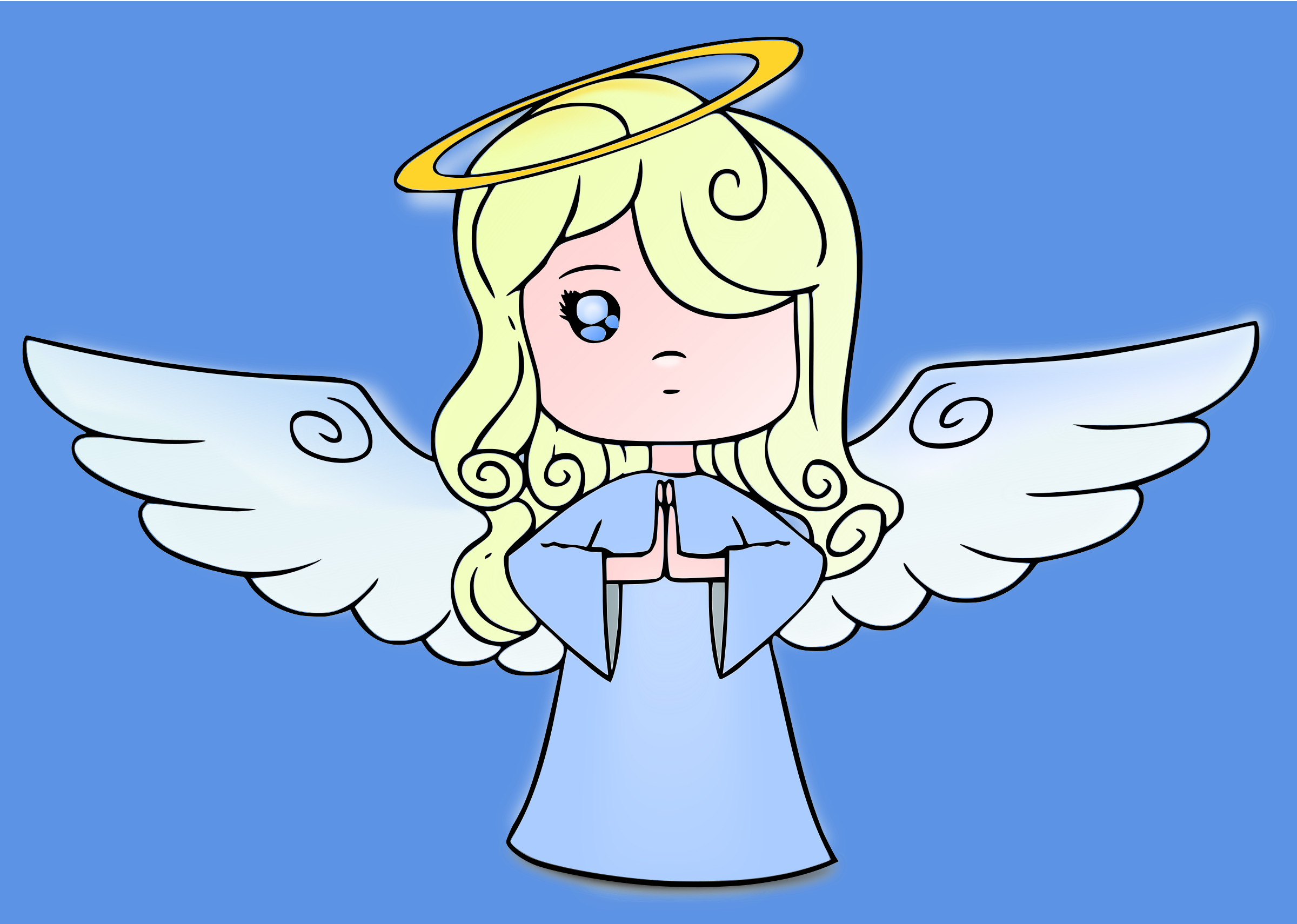 angel clipart openclipart cute log into dmca complaint favorite