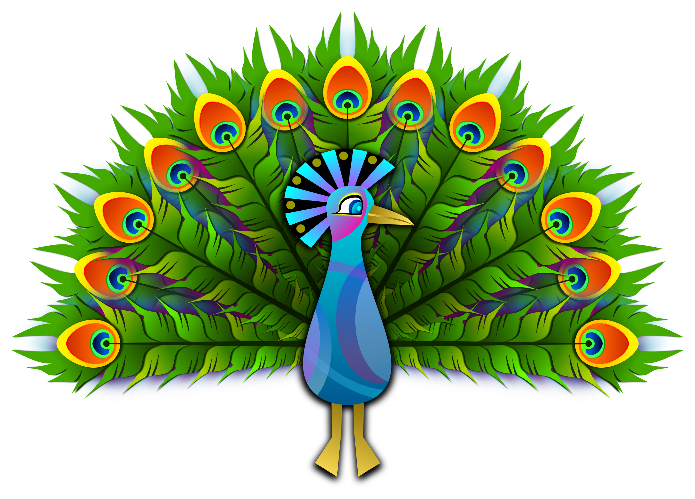 Peacock by Viscious-Speed
