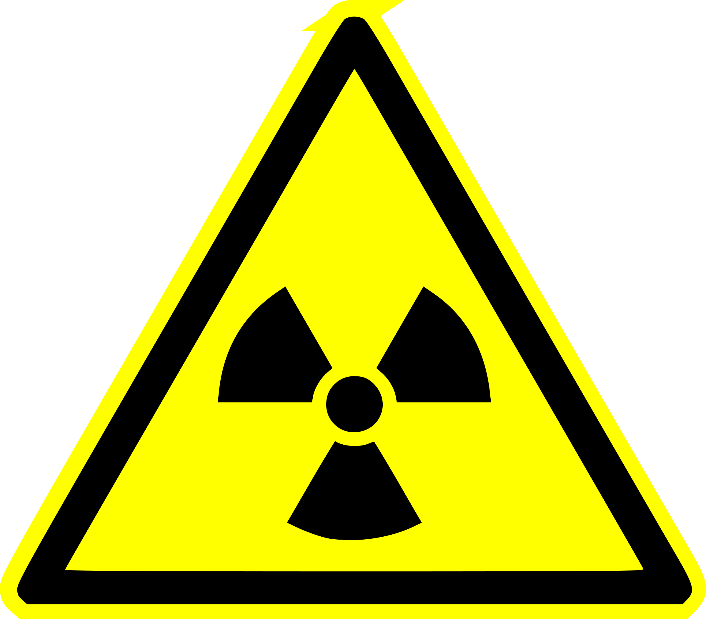 Nuclear warning by worker